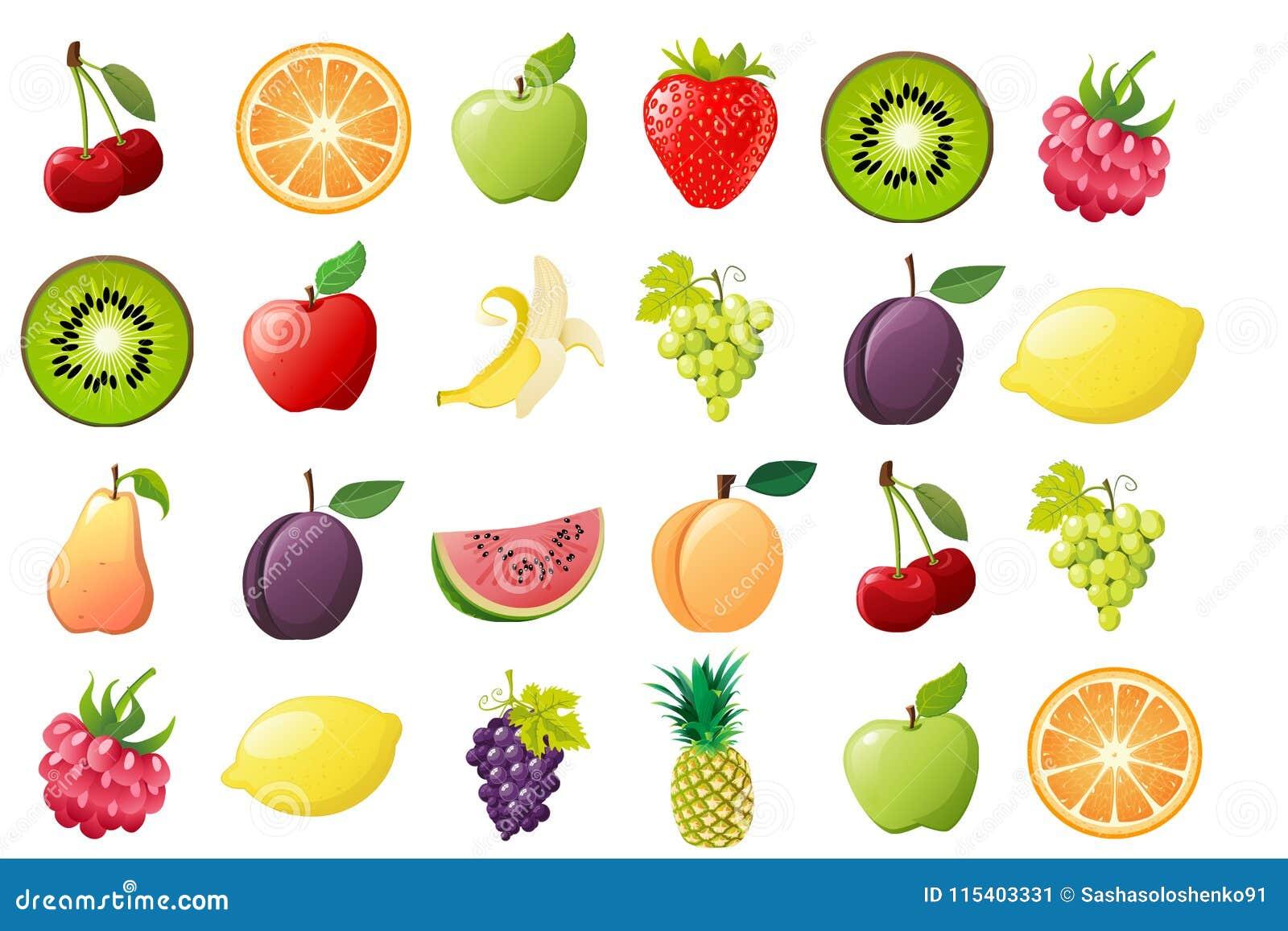 成熟果子,例证