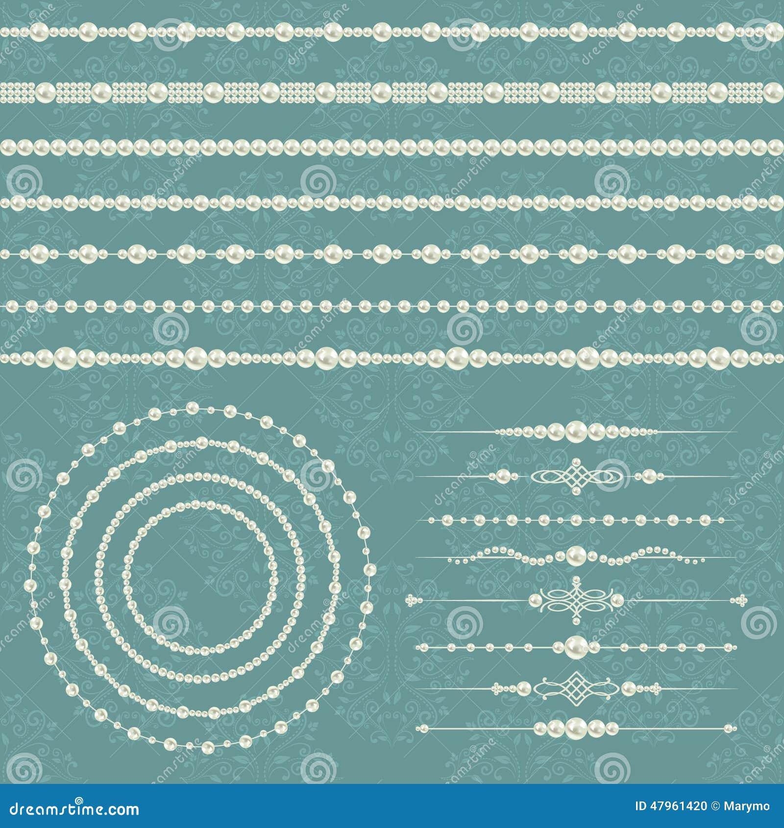 成珠状分切器的现实兆集合收藏和圆的框架和边界