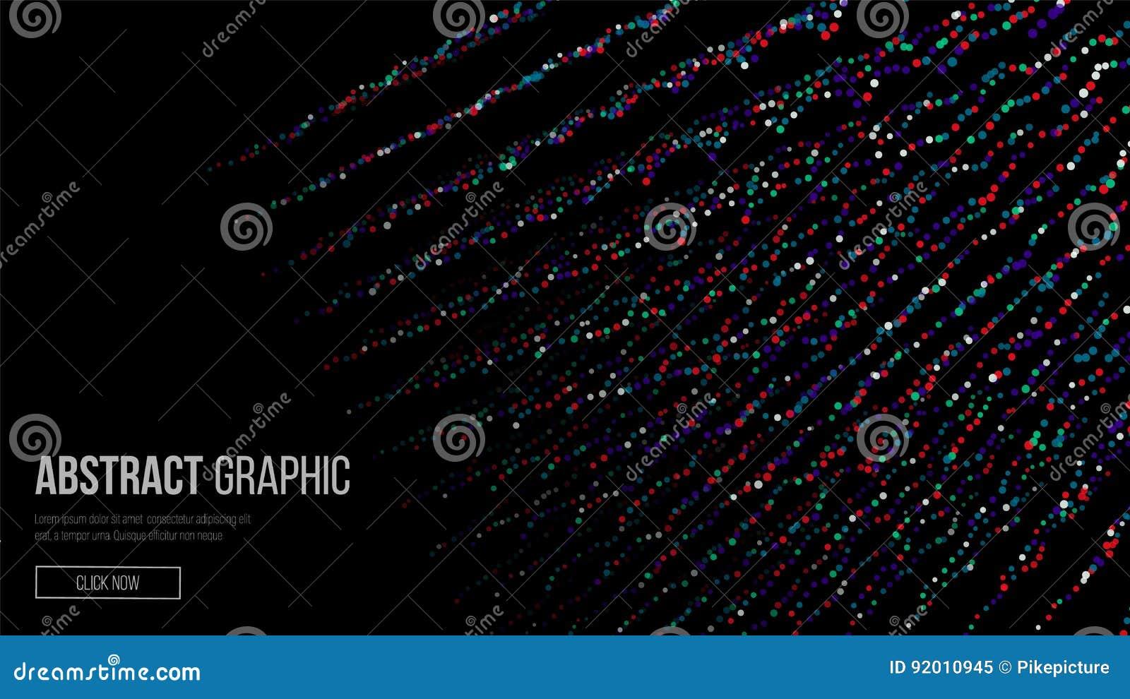 组成由微粒 抽象设计图象 科学技术背景现代感觉  也corel凹道例证向量 抽象d