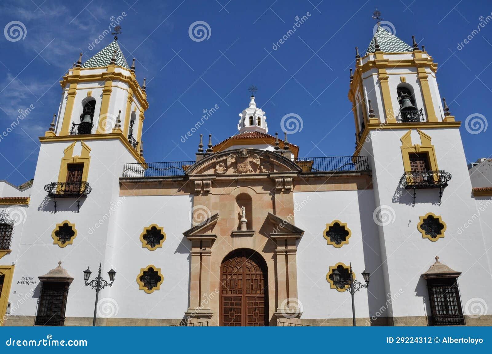 我们的Socorro,朗达(西班牙)的夫人教区