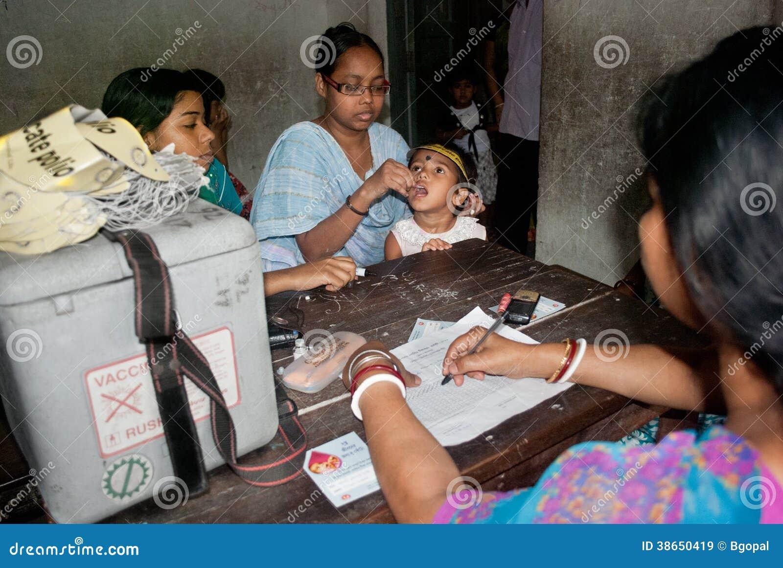 我们根除小儿麻痹症