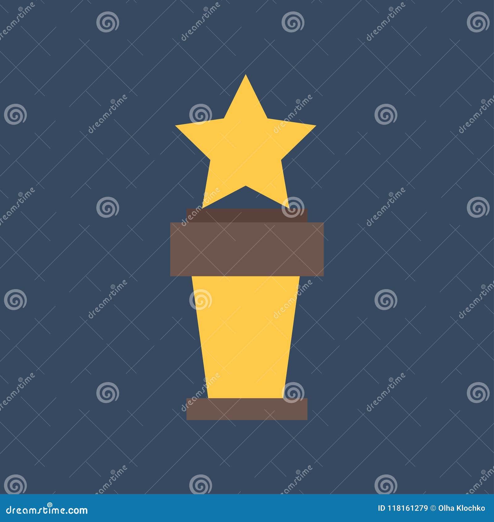 战利品杯平的象 金优胜者杯子 最佳的奖励