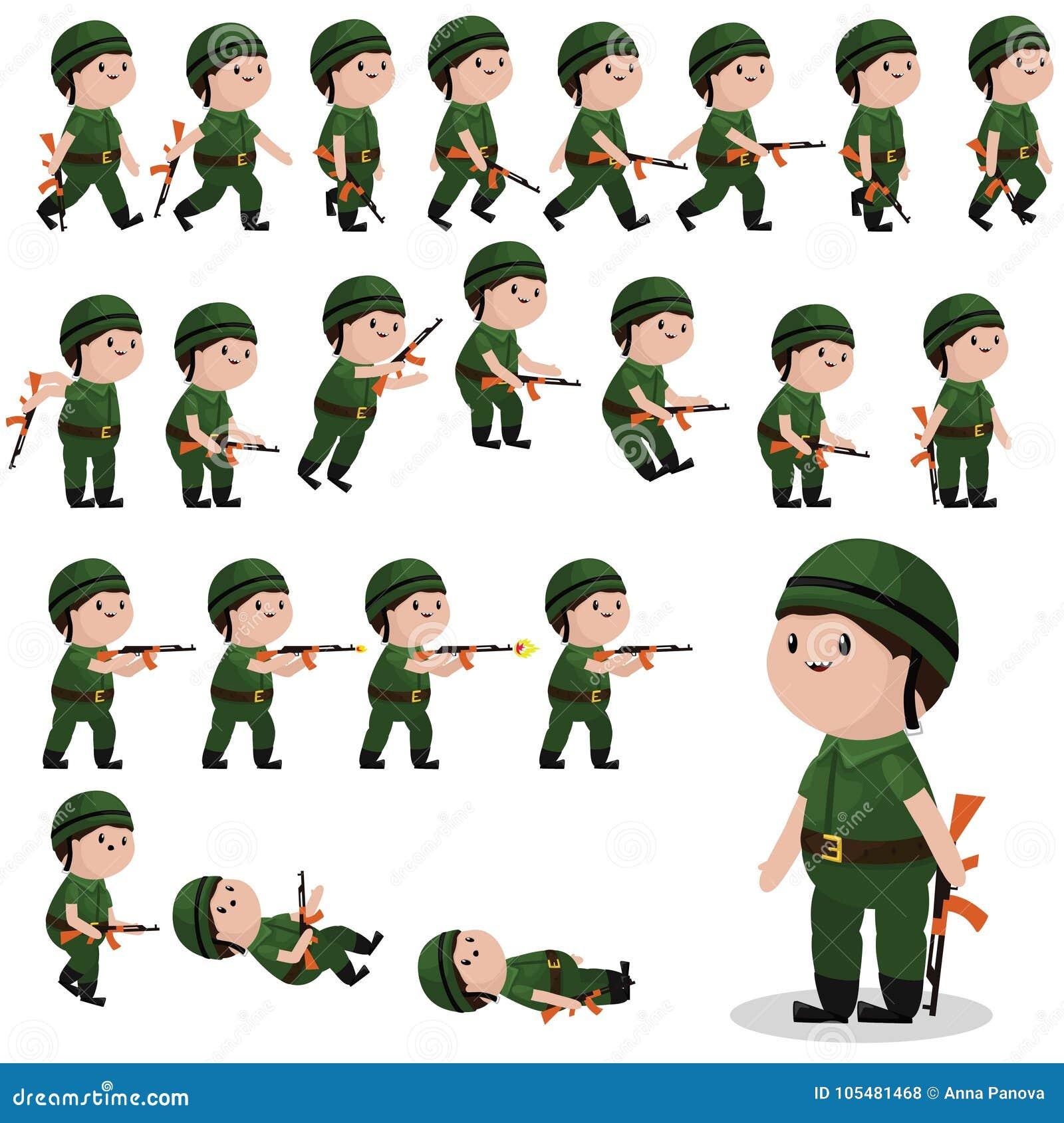 战士比赛的,动画字符魍魉