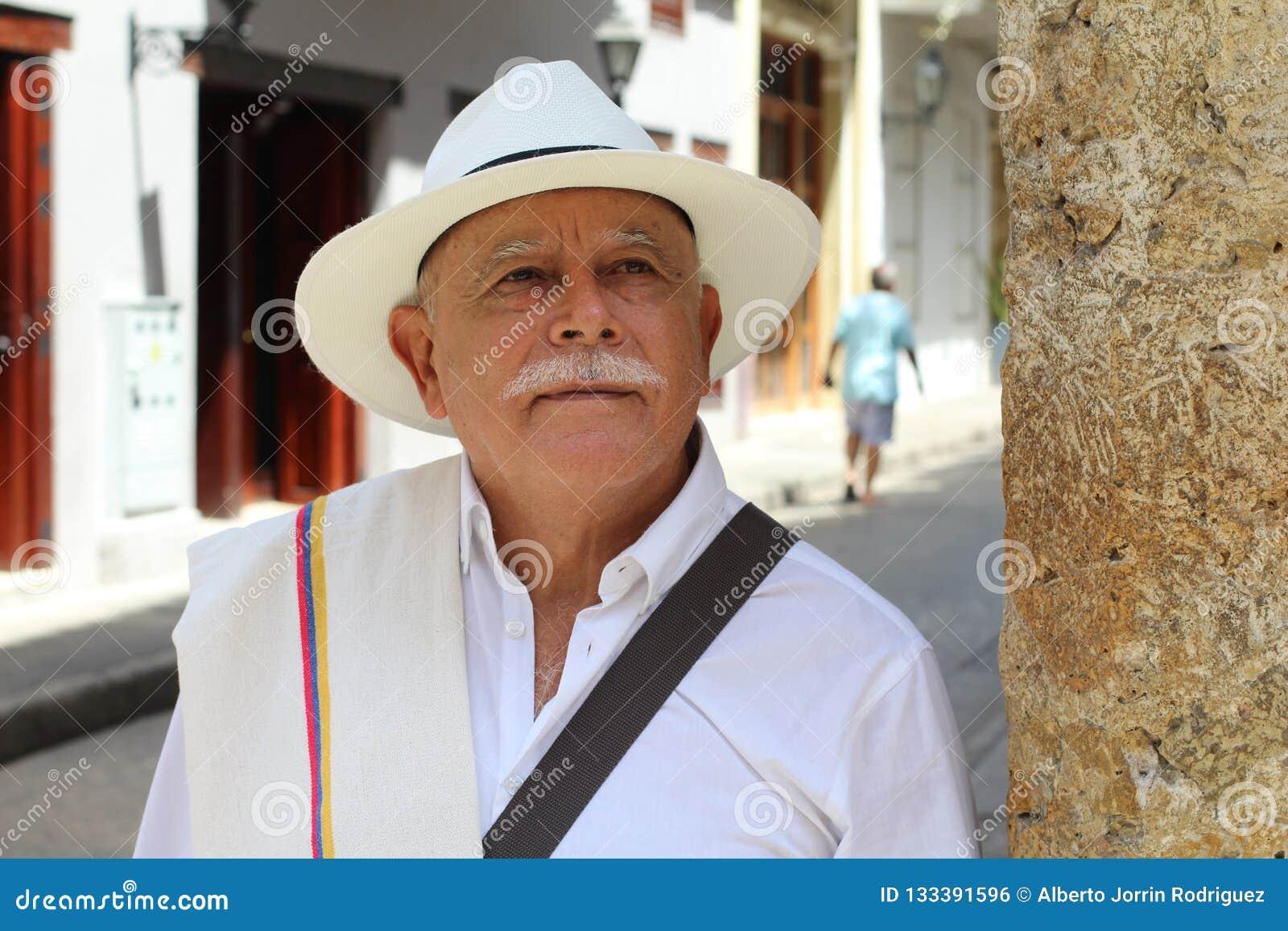 户外优等的哥伦比亚的更老的人