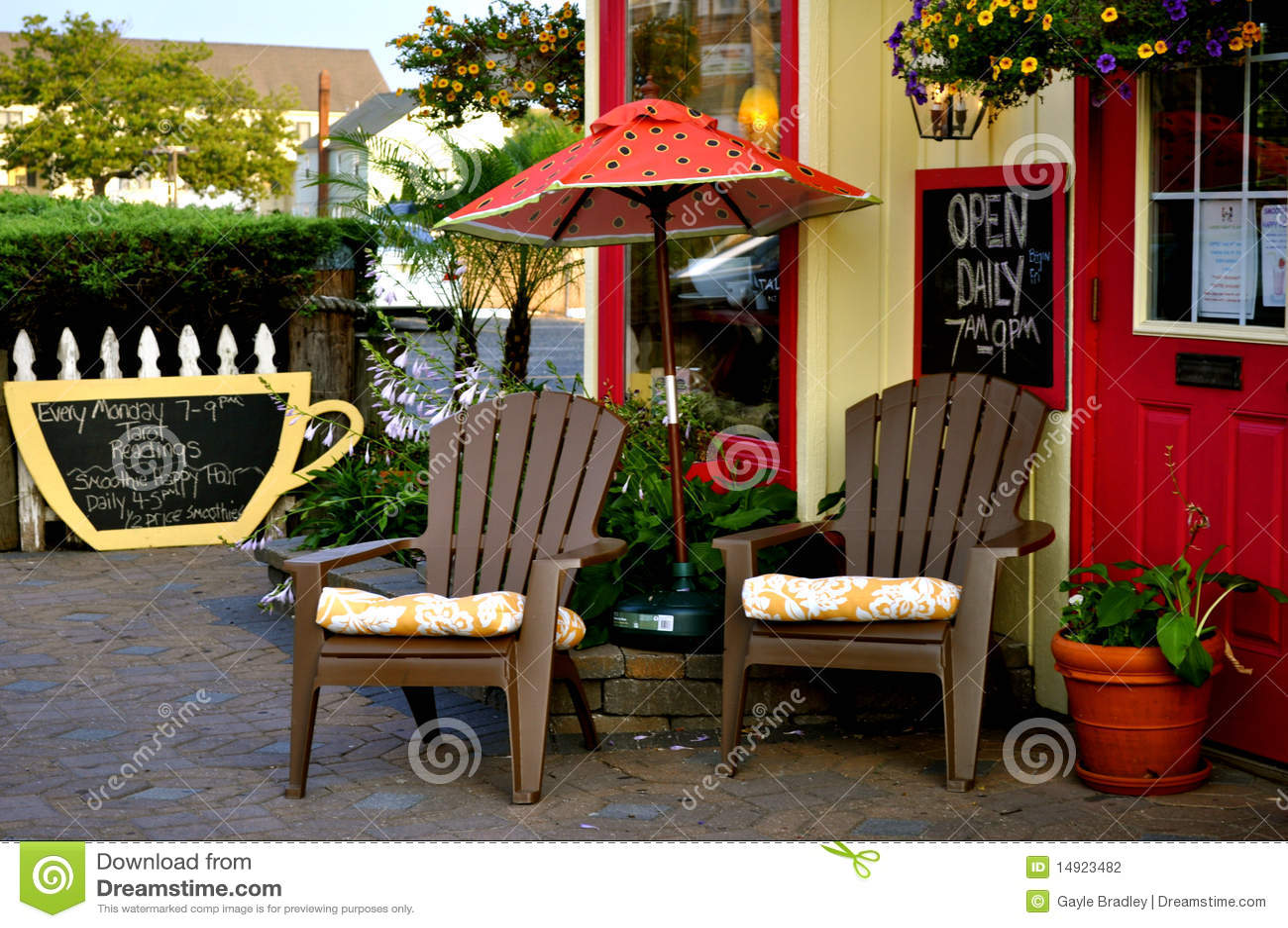 户外咖啡馆
