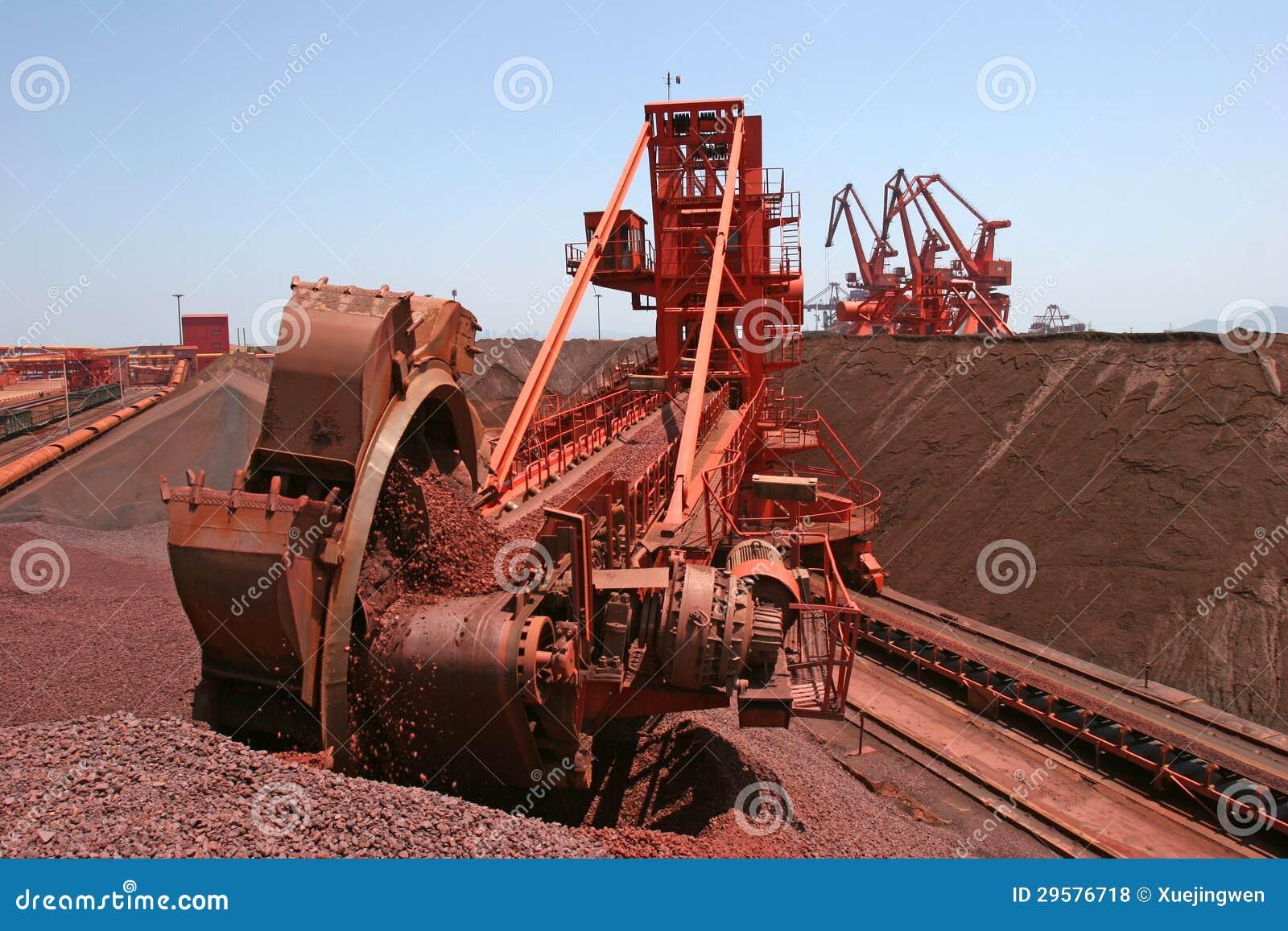 戽头转轮挖土机