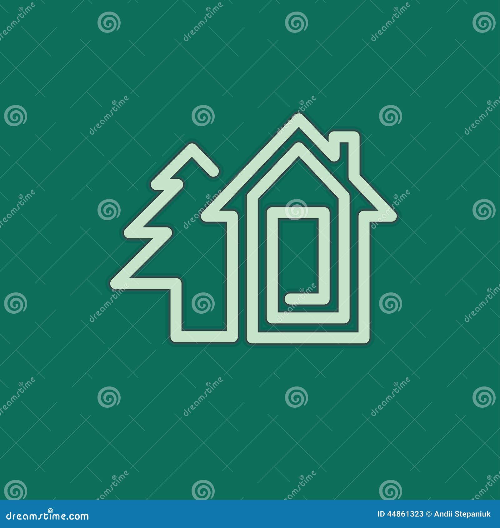 房地产房子标志图片