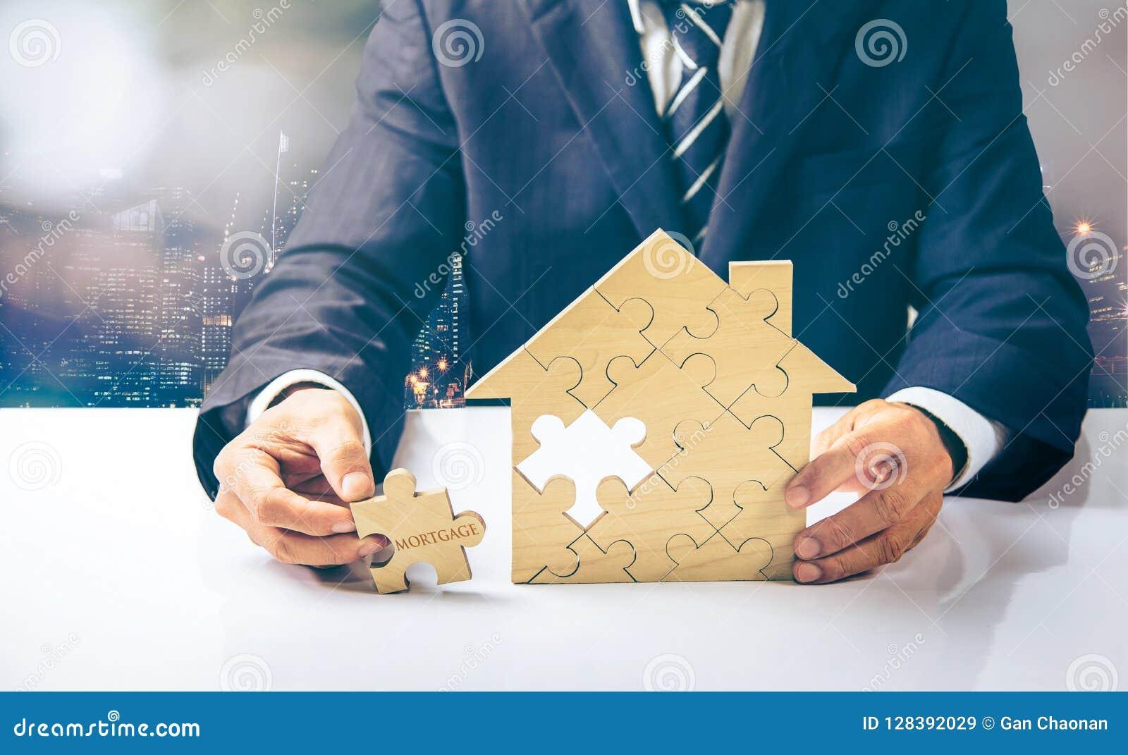房子和硬币在难题片断被安置与前个片断的与文本抵押