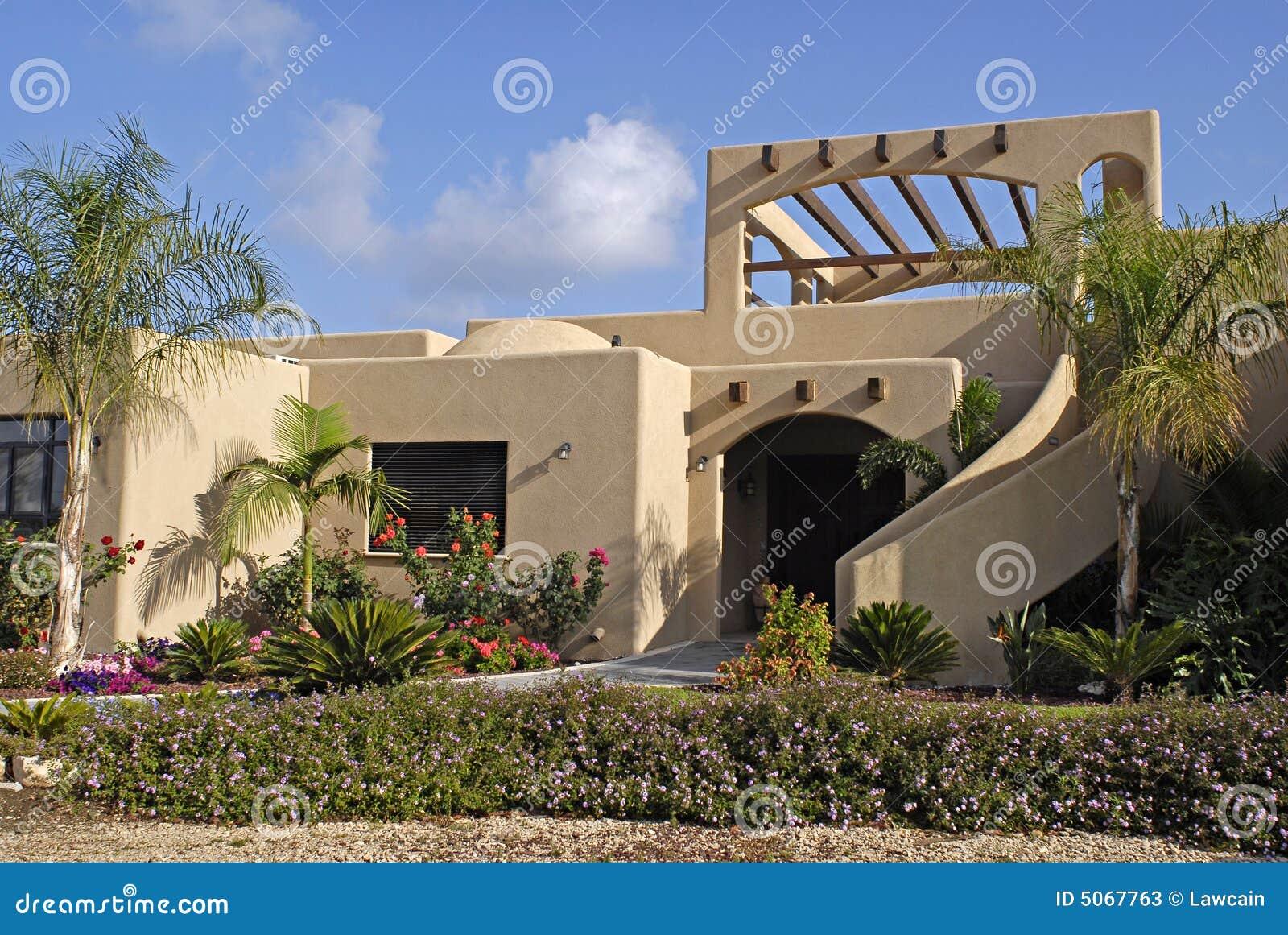 房子现代灰泥