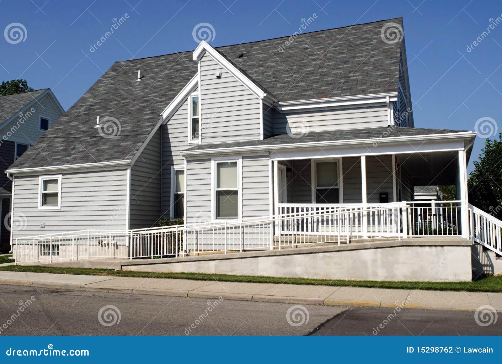 房子舷梯轮椅