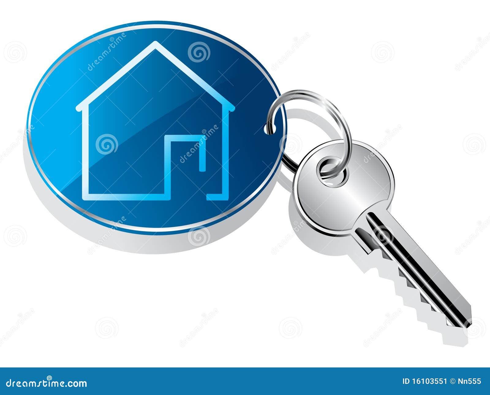 房子钥匙圈