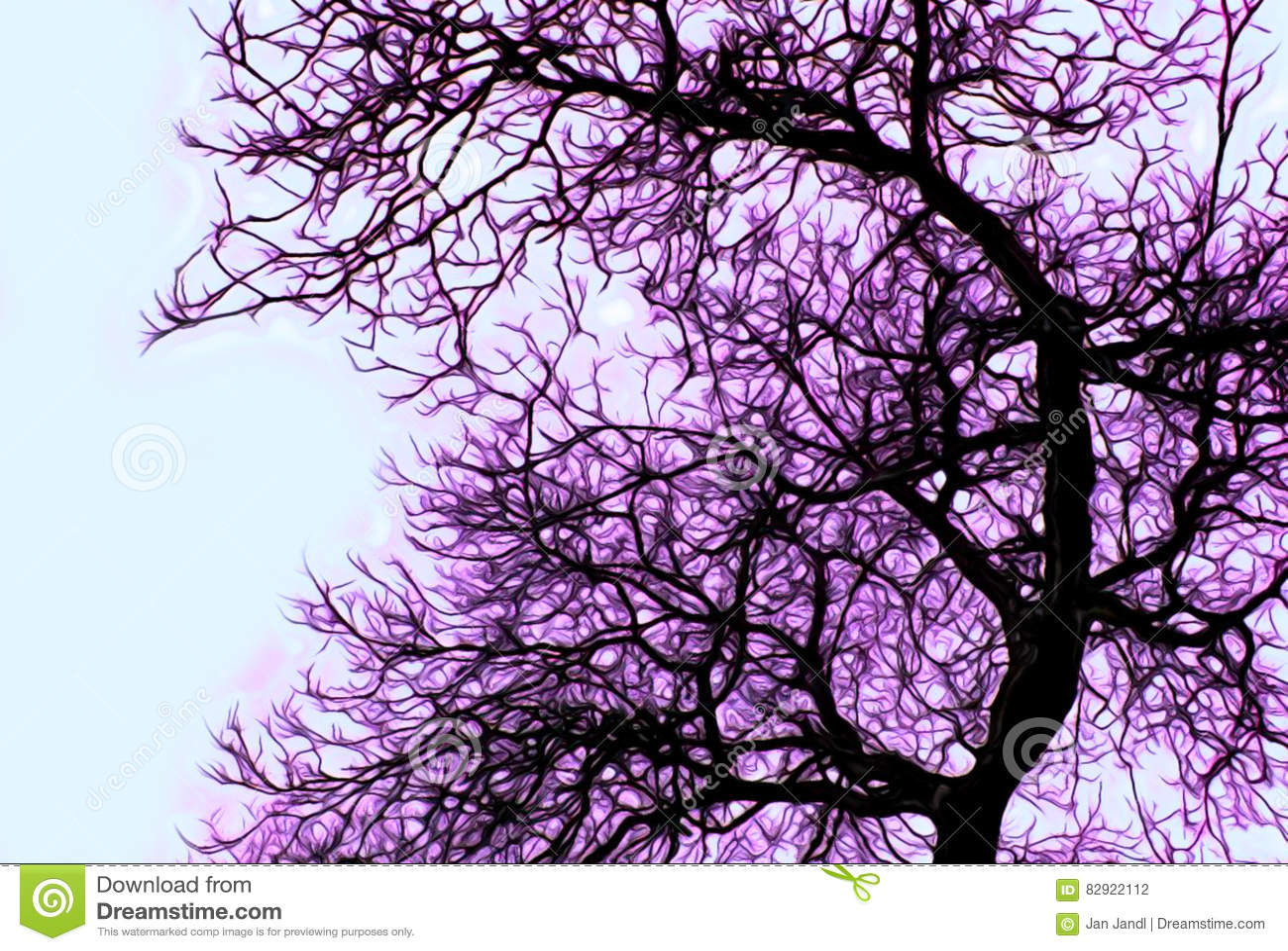 所有所有要素例证各自的对象称范围雪对结构树向量