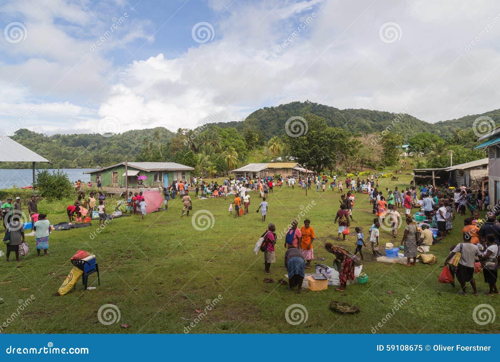 所罗门群岛本机市场