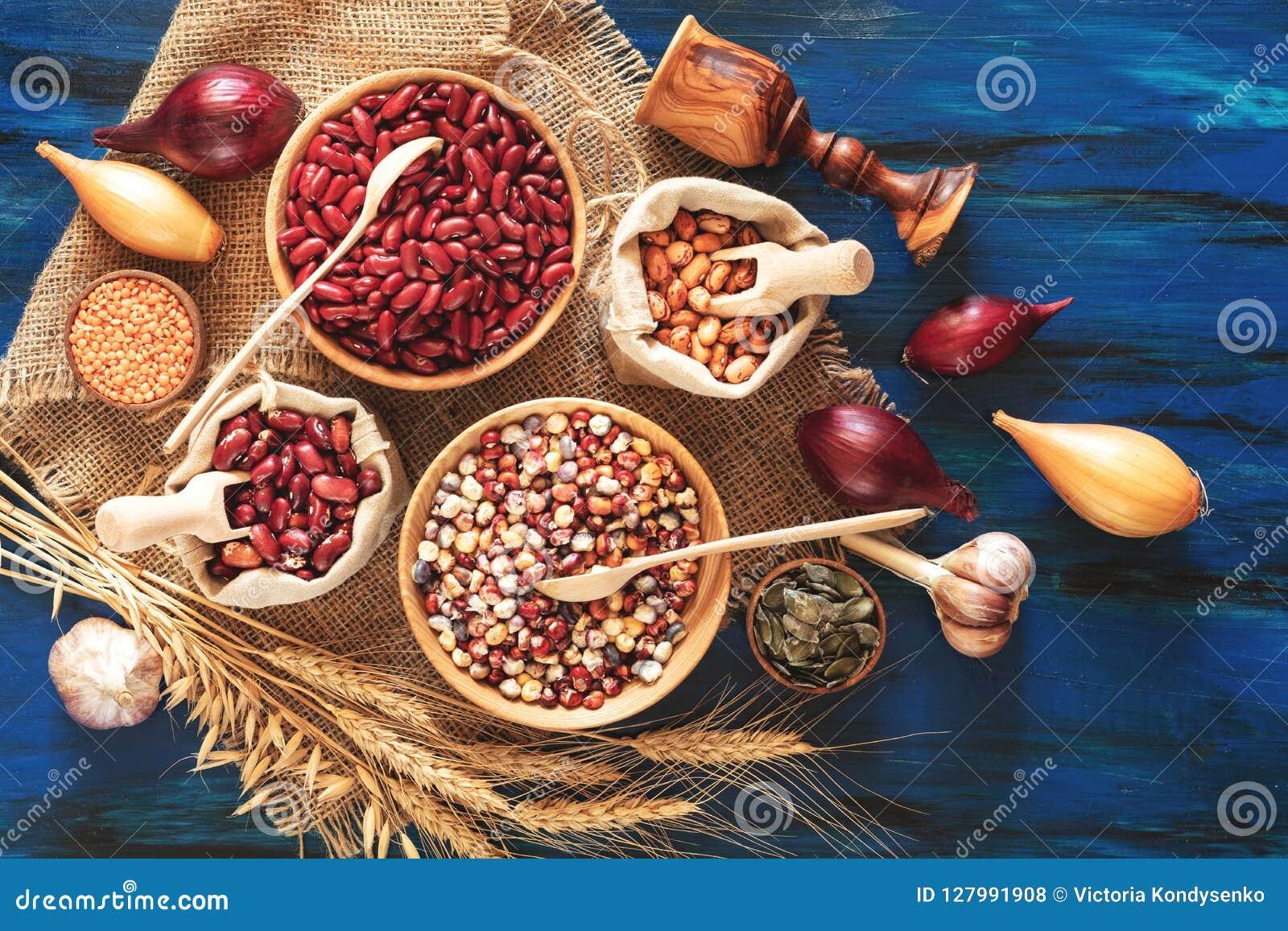 扁豆,印第安玉米,南瓜籽,扁豆的分类,