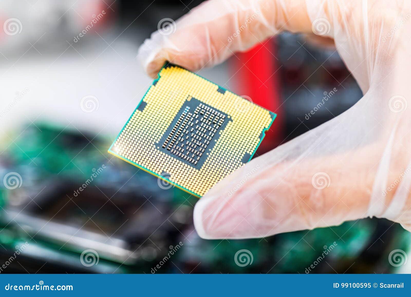 手中CPU的处理器