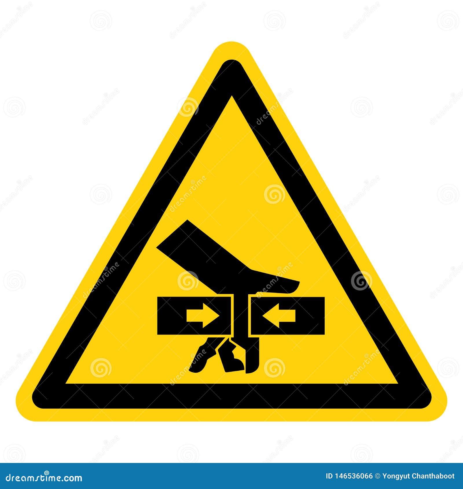 手从双方标志标志,传染媒介例证,在白色背景标签的孤立的易碎力量 EPS10