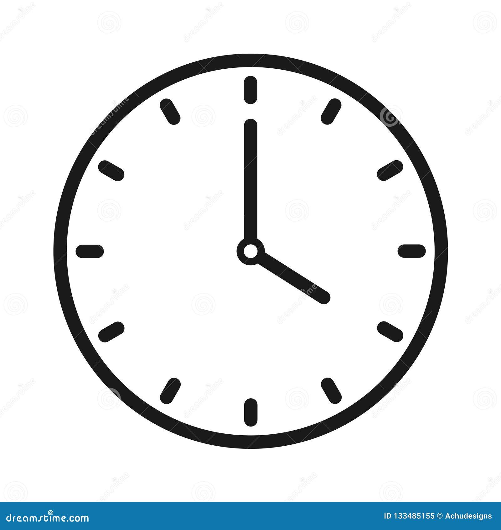 手册咖啡馆时钟设计叉子形成现有量图标匙子