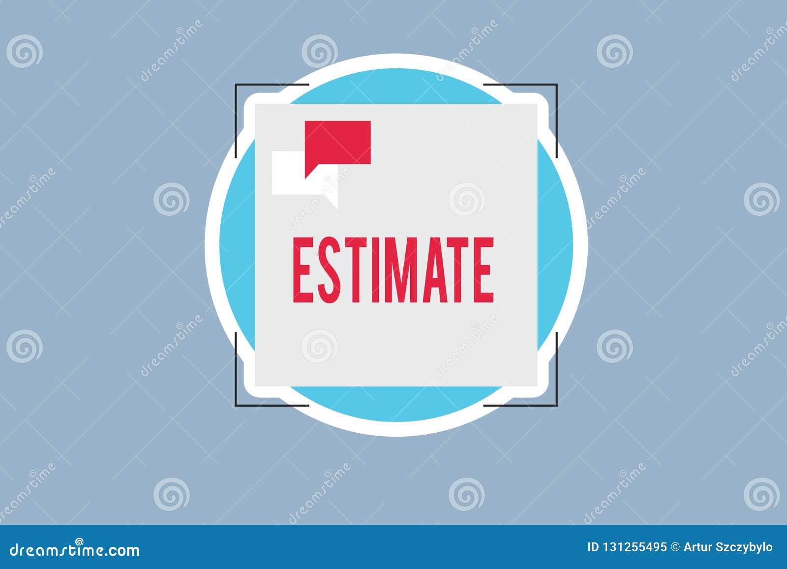 手写文本估计 大致意味的概念计算法官价值数字某事的数量程度