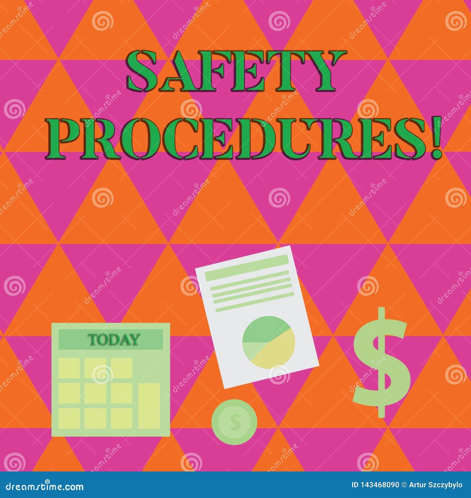 手写文本文字安全程序 概念意思遵守条例工作场所安全的