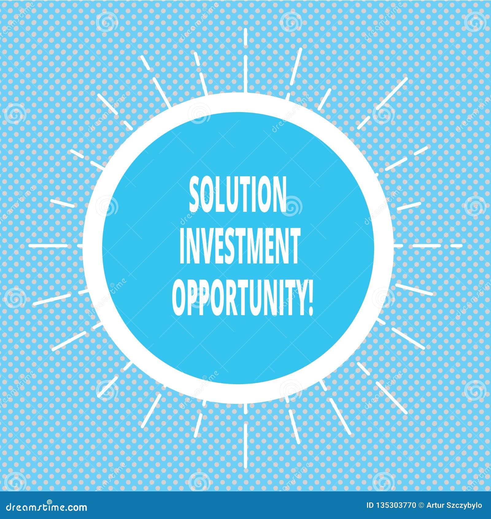 手写文本文字解答投资机会 意味战略的概念在承担工商界前与