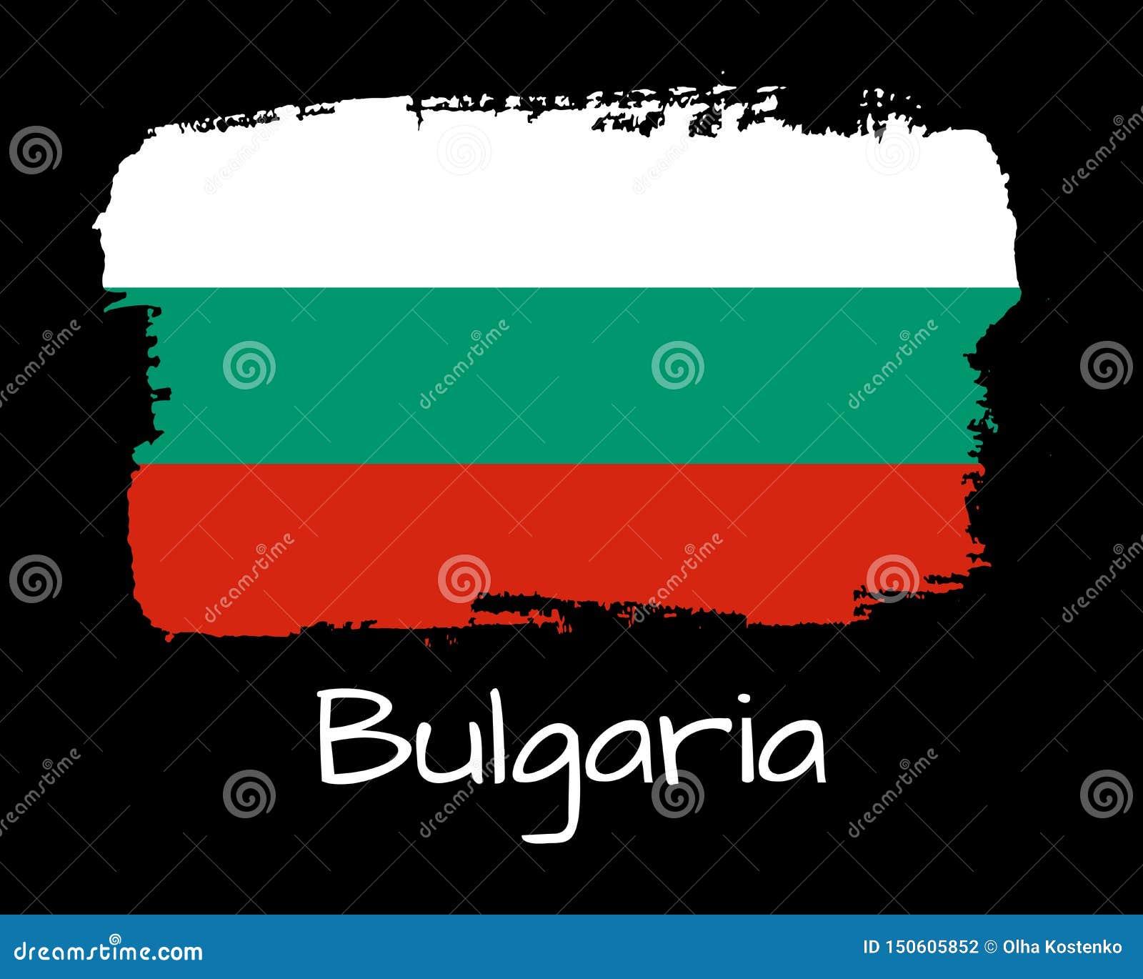 手凹道保加利亚旗子 全国保加利亚横幅