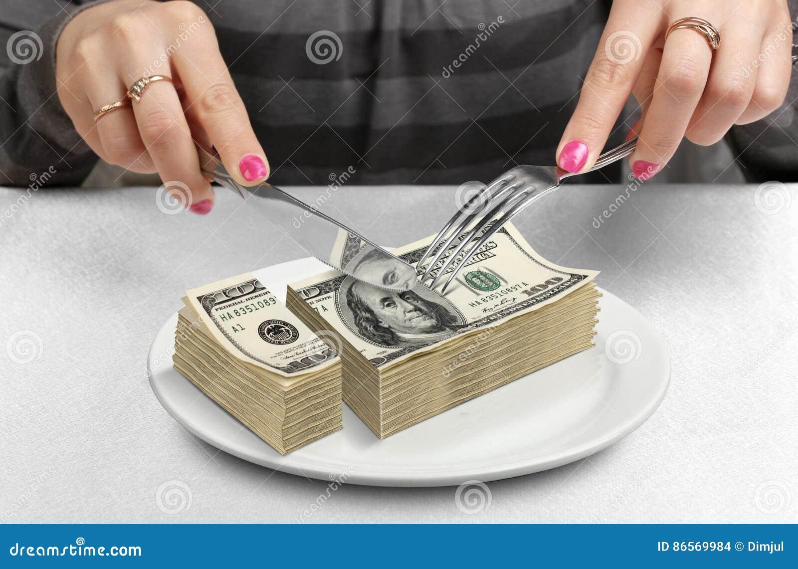 手切开了在板材的金钱,减少资金概念