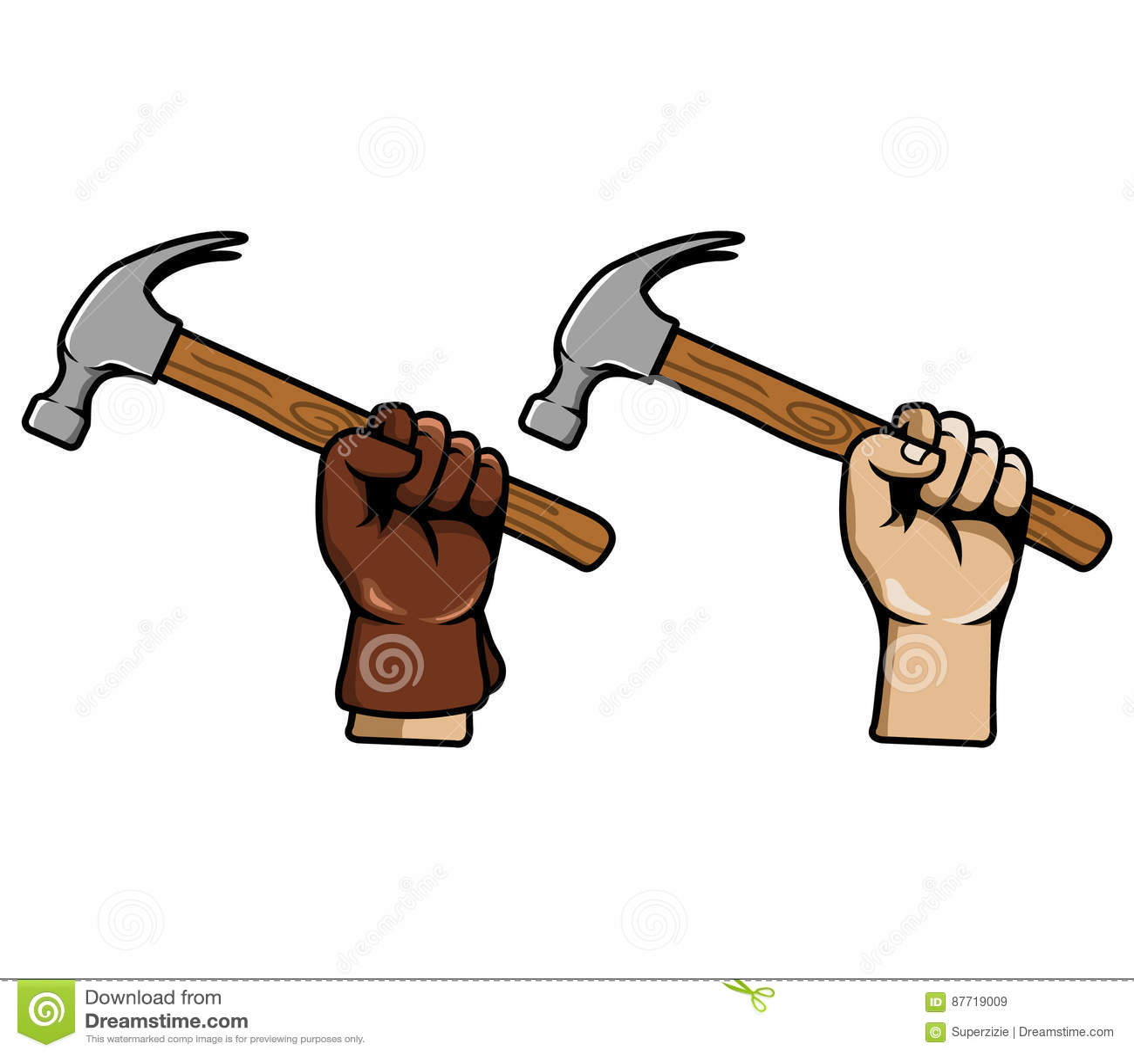 手劫掠锤子