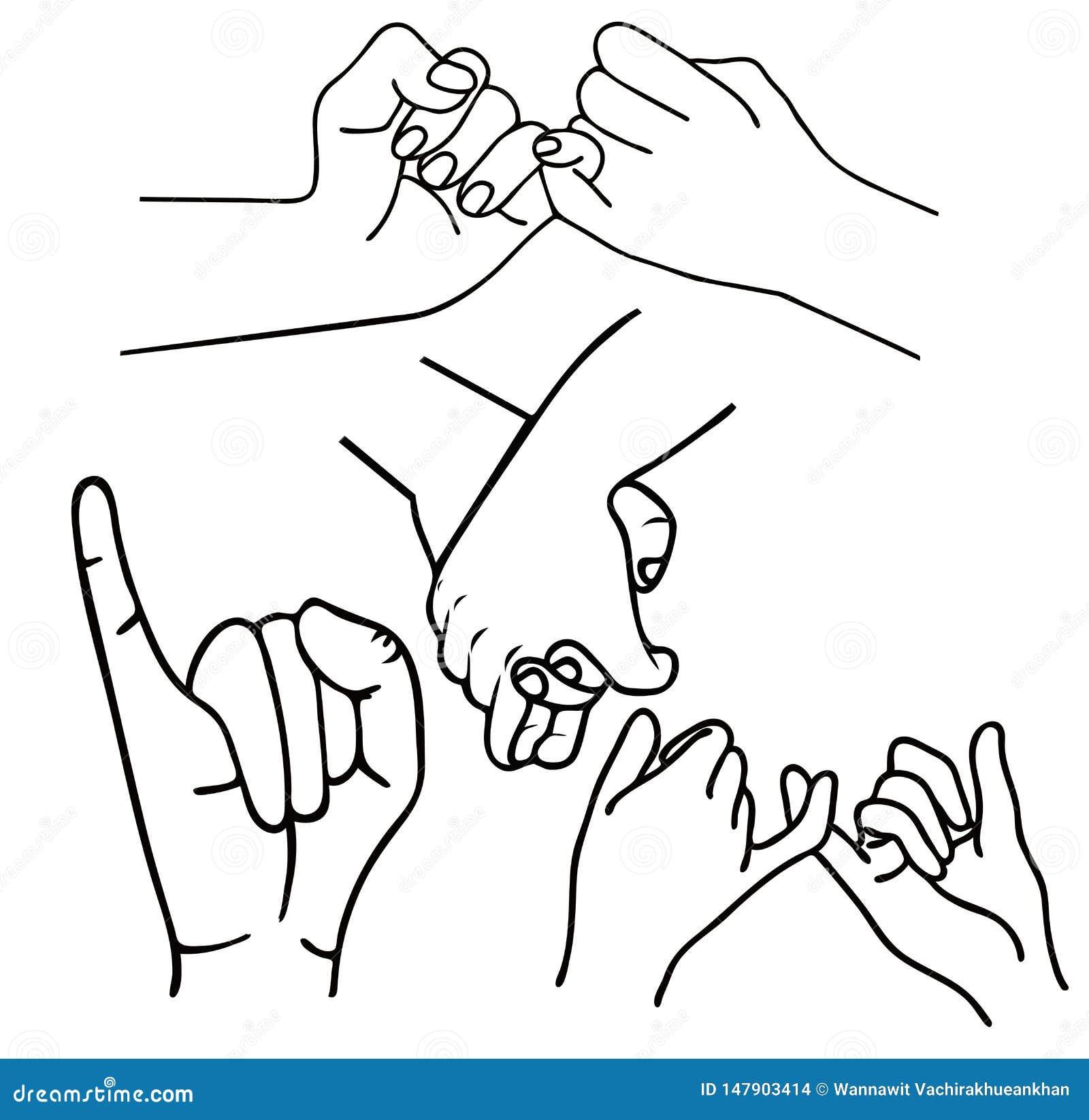 手势诺言概述集合