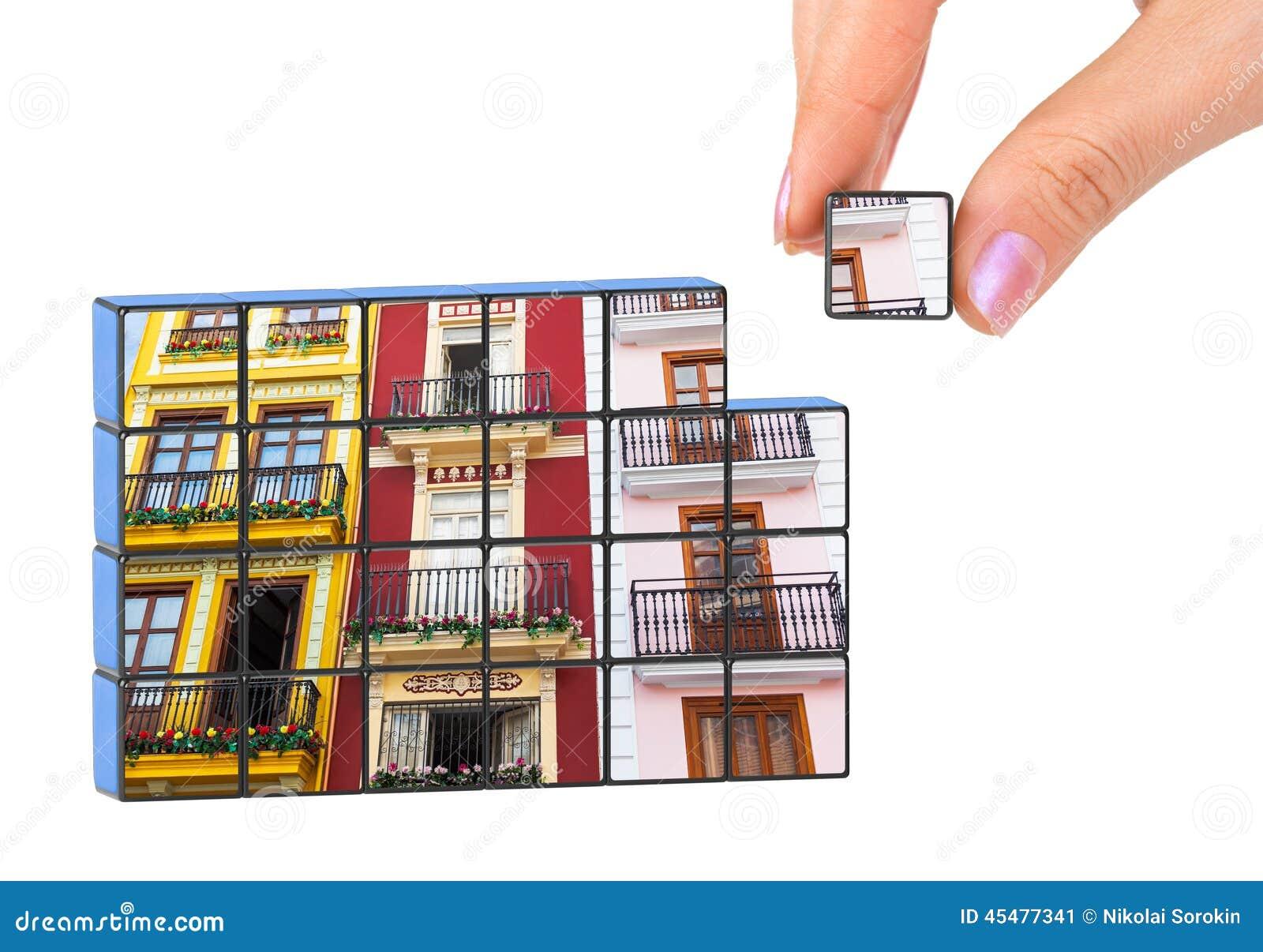 手和建筑建筑学(我的照片)难题
