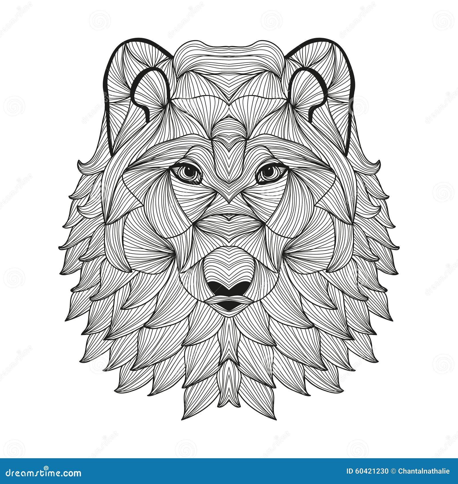 手拉的装饰狼图片