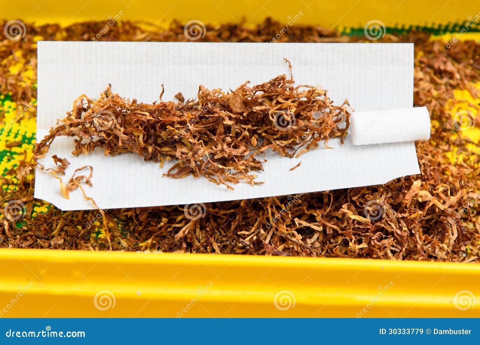 手摇的香烟烟草