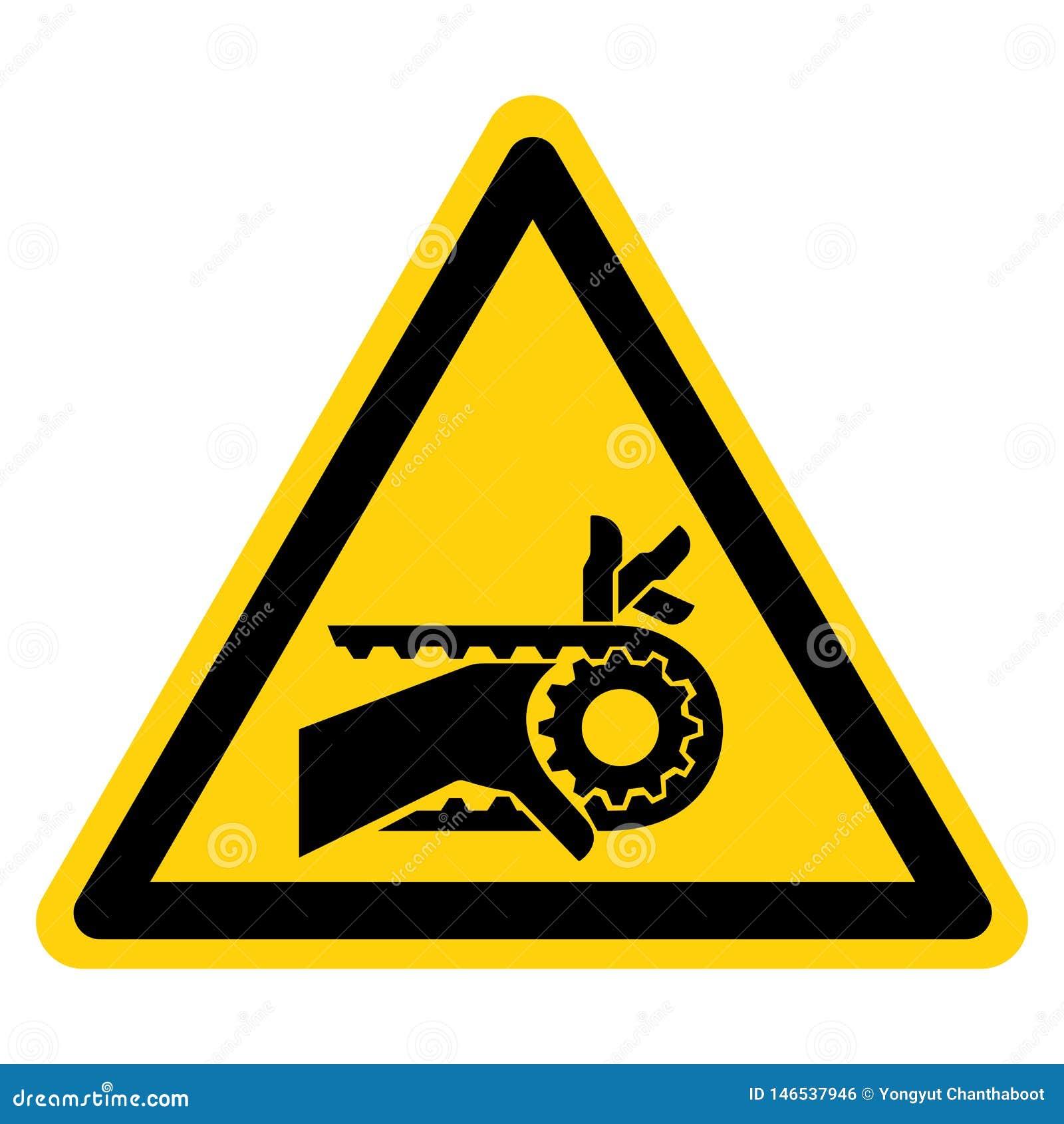 手缠结刻凹痕了皮带传动标志标志,传染媒介例证,在白色背景标签的孤立 EPS10