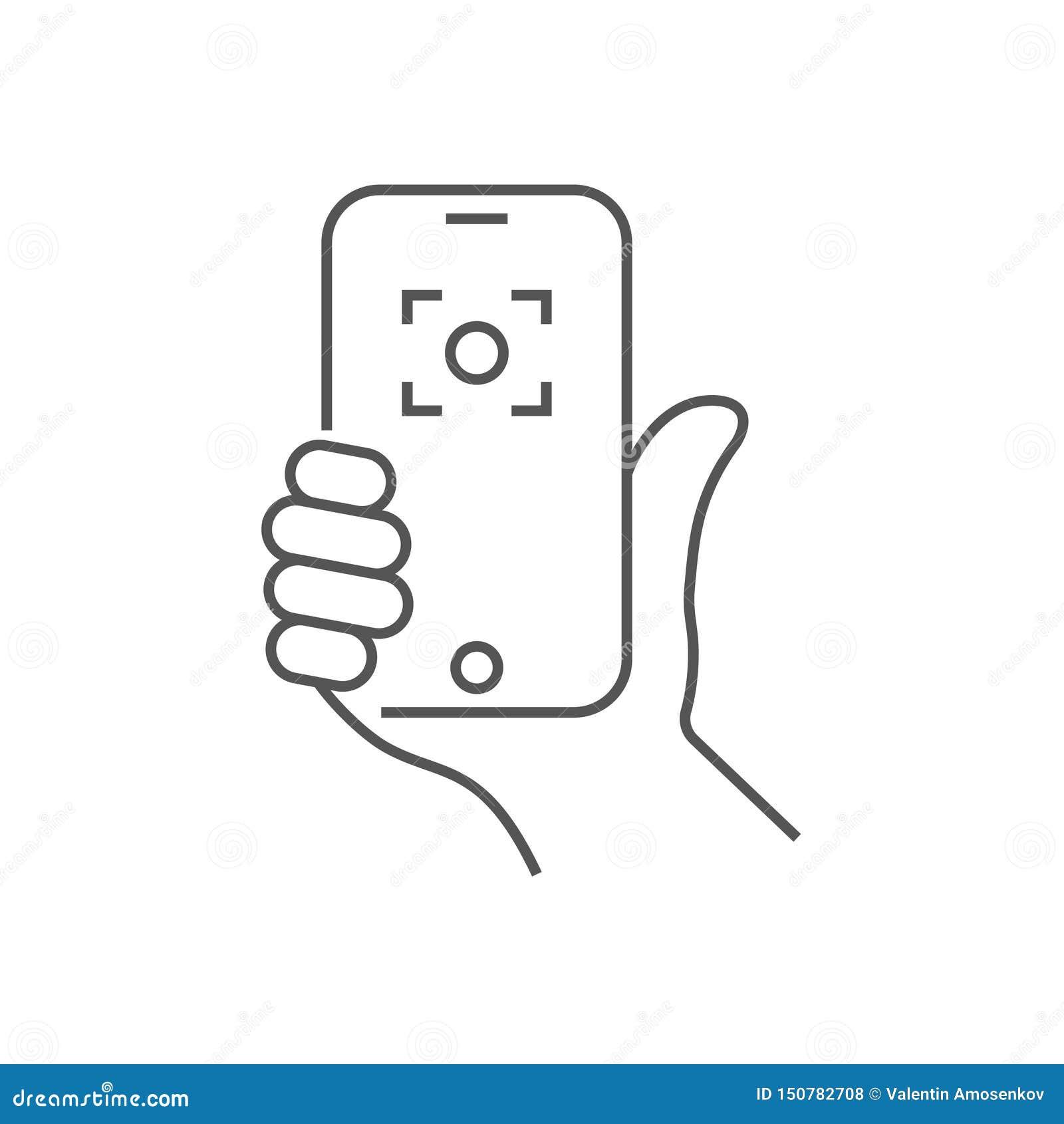 手藏品电话,selfie象 在智能手机的时髦象selfie r r 10 eps