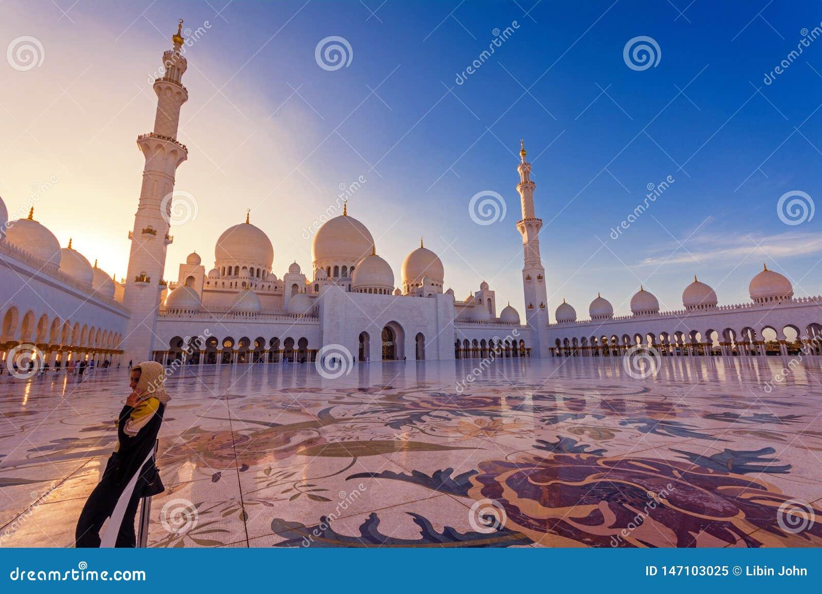扎耶德Grand Mosque阿布扎比回教族长