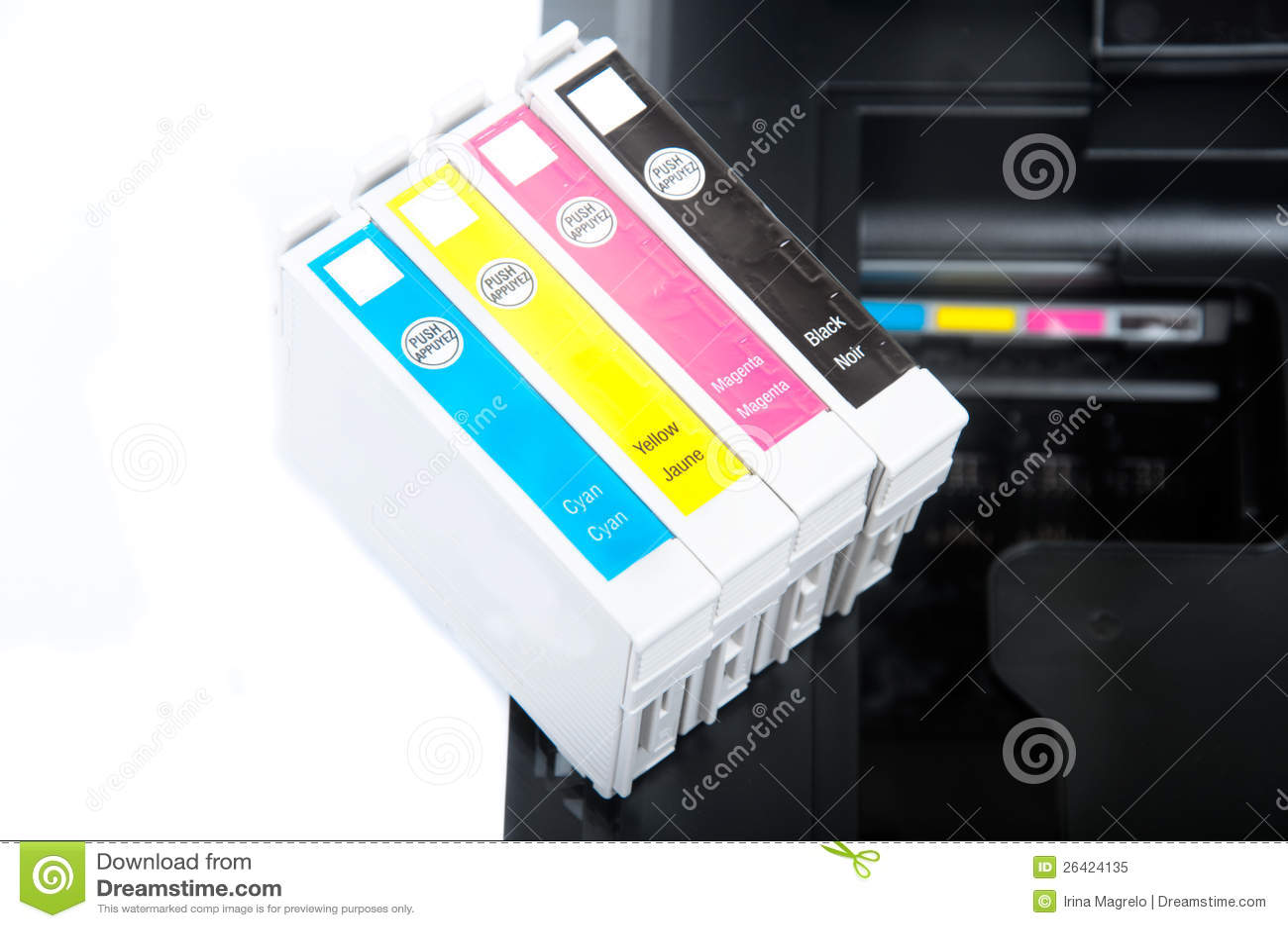 打印机弹药筒