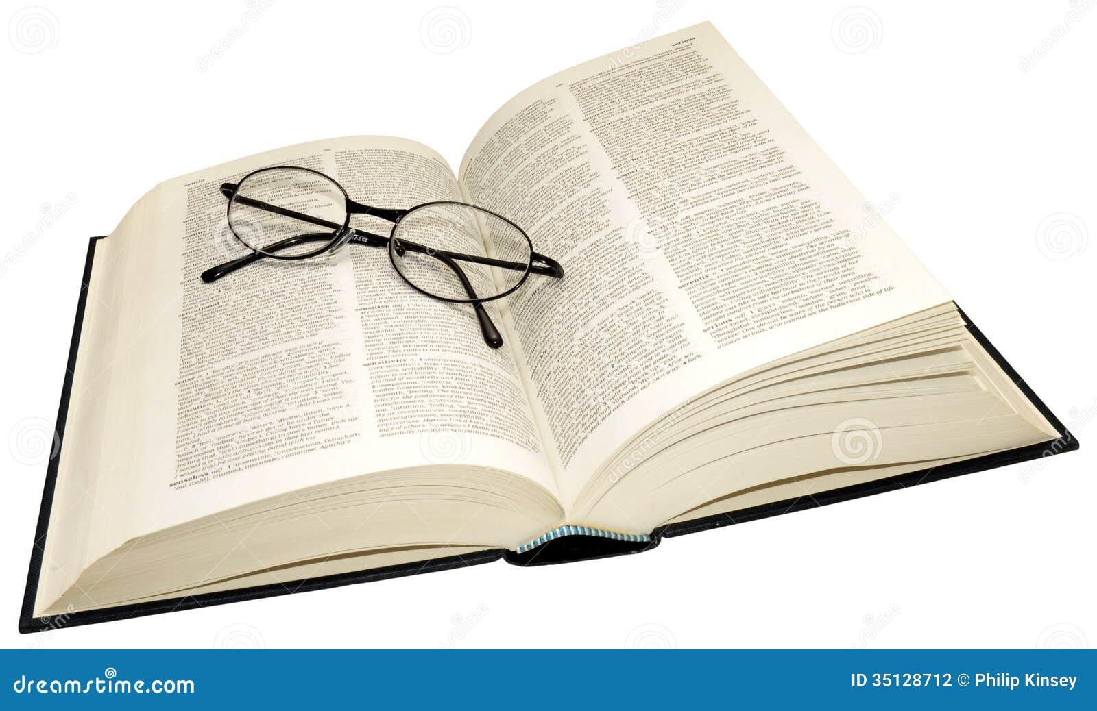 打开字典和放大镜