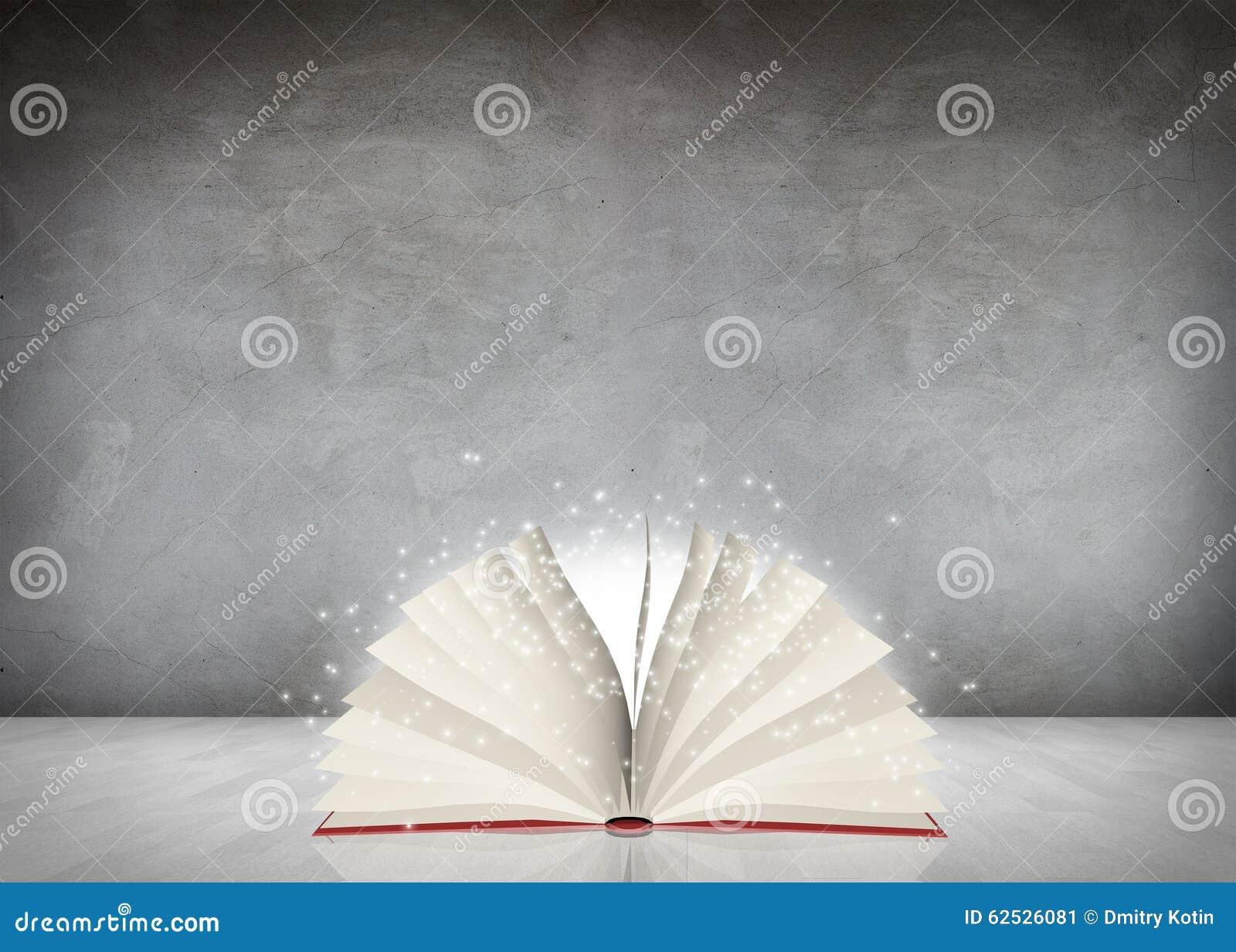 打开神奇书