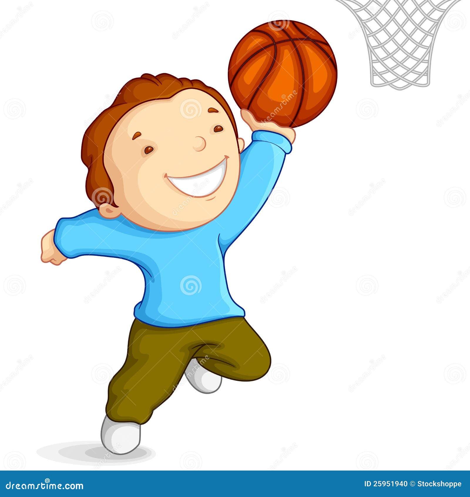 打篮球的男孩 库存照片 - 图片: 25951940
