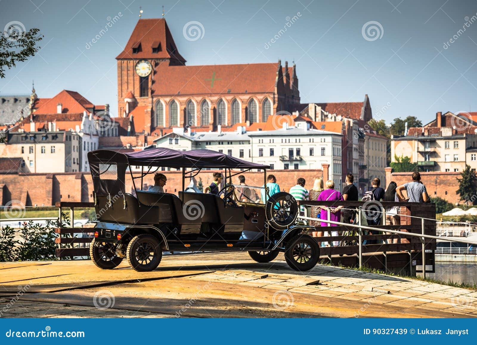 托伦在波兰,老镇