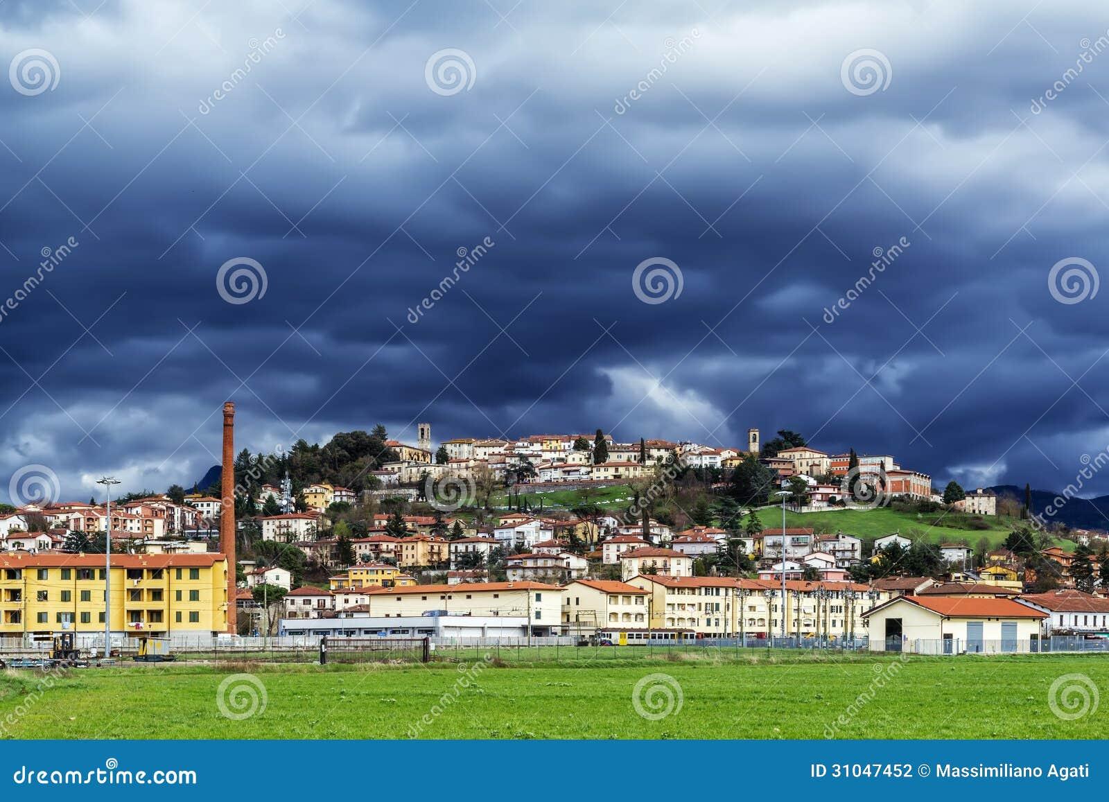 托斯坎老城市