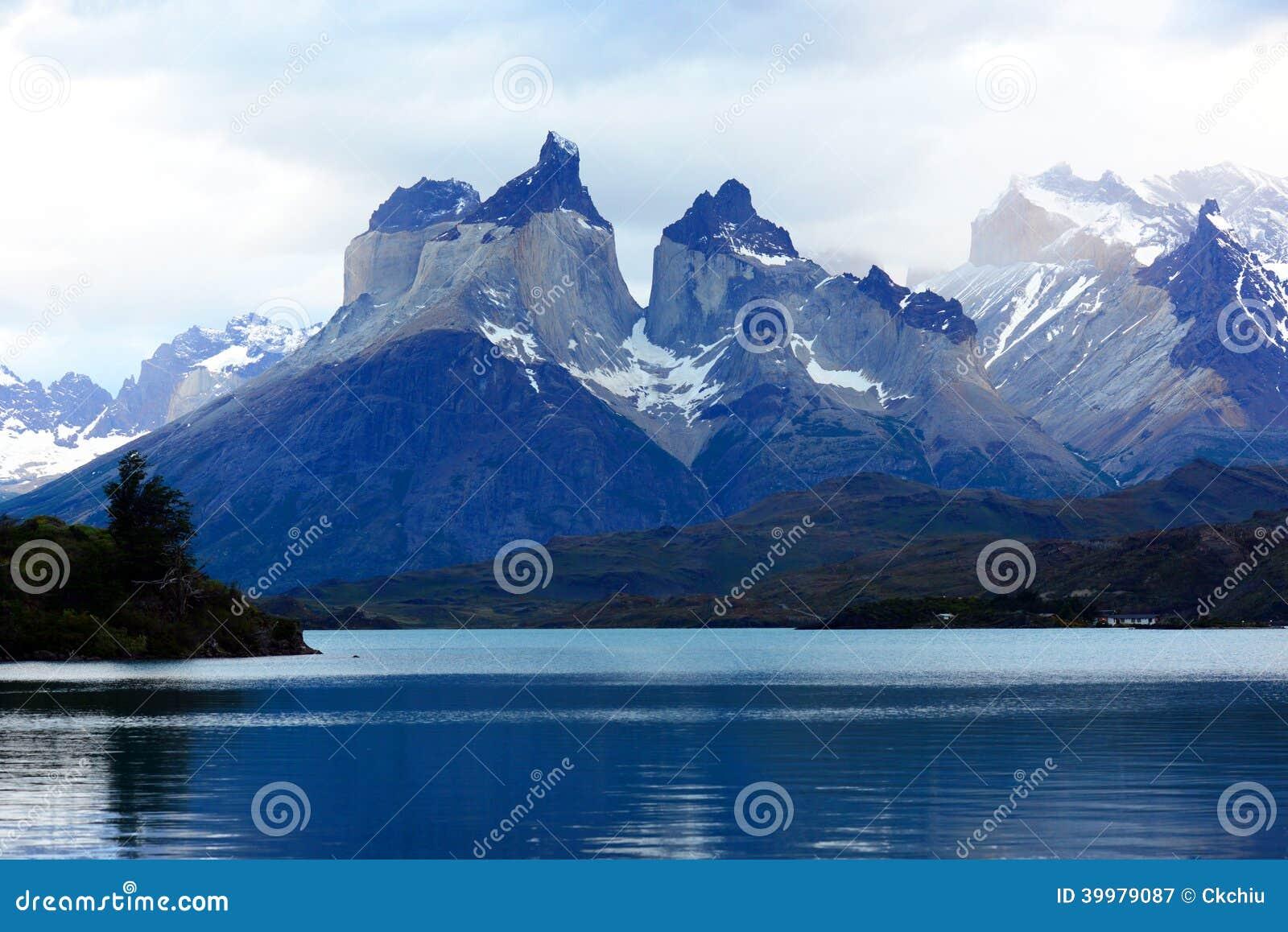 托里斯del潘恩国家公园,巴塔哥尼亚,智利