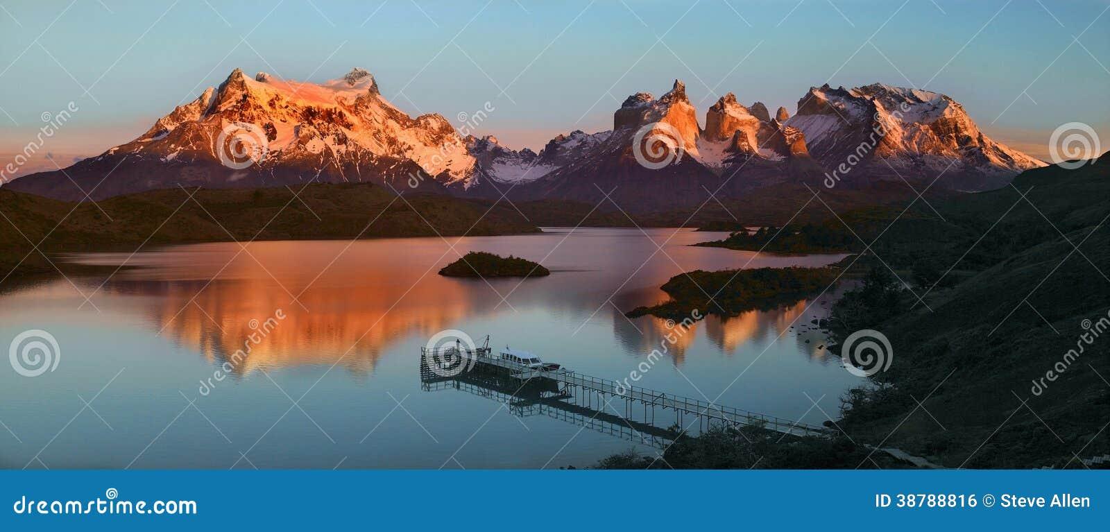 托里斯del潘恩国家公园-巴塔哥尼亚-智利