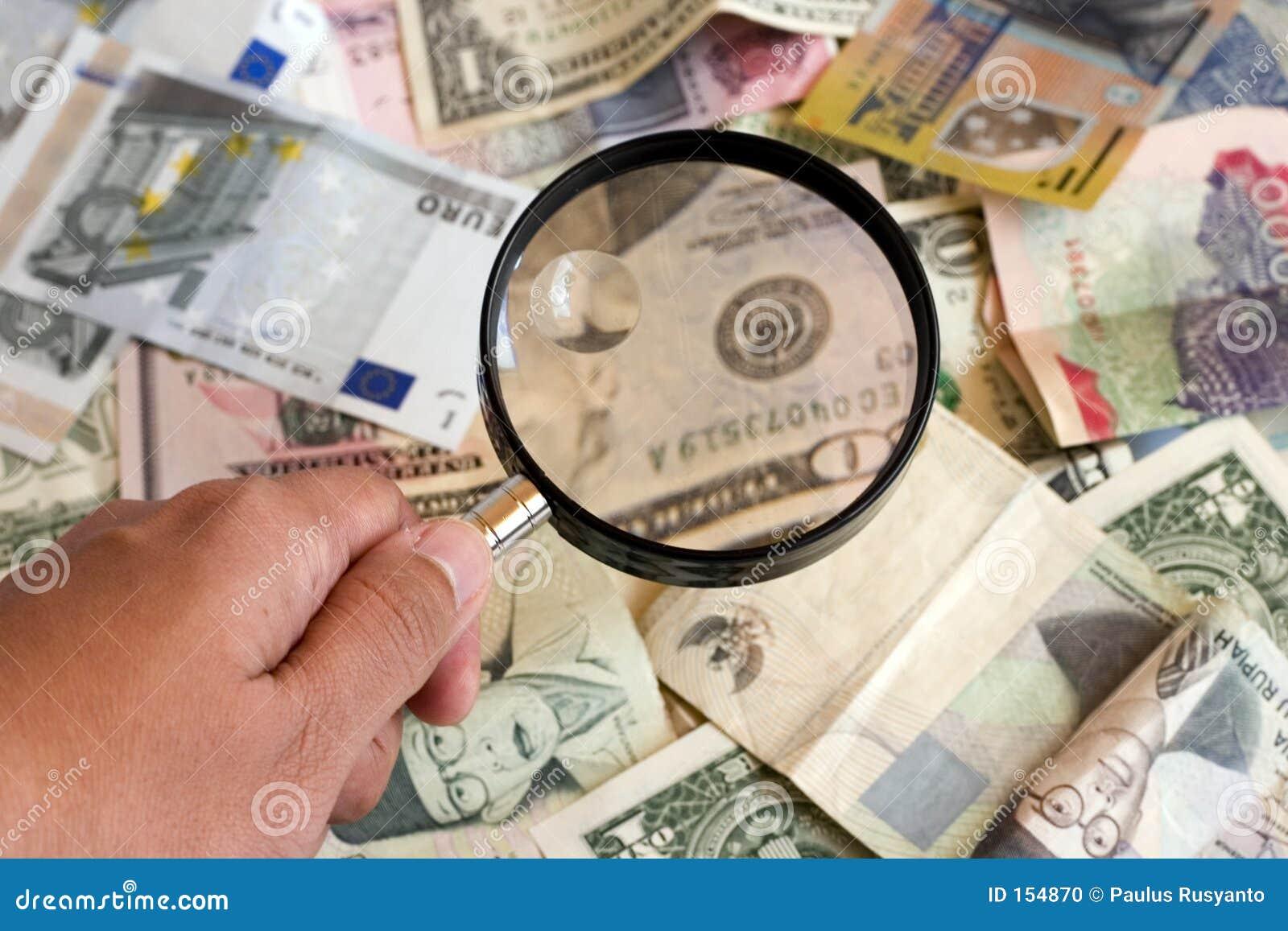 扩大化货币的玻璃