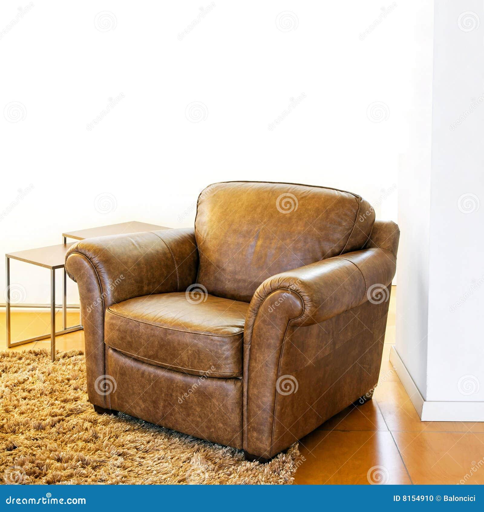 扶手椅子皮革