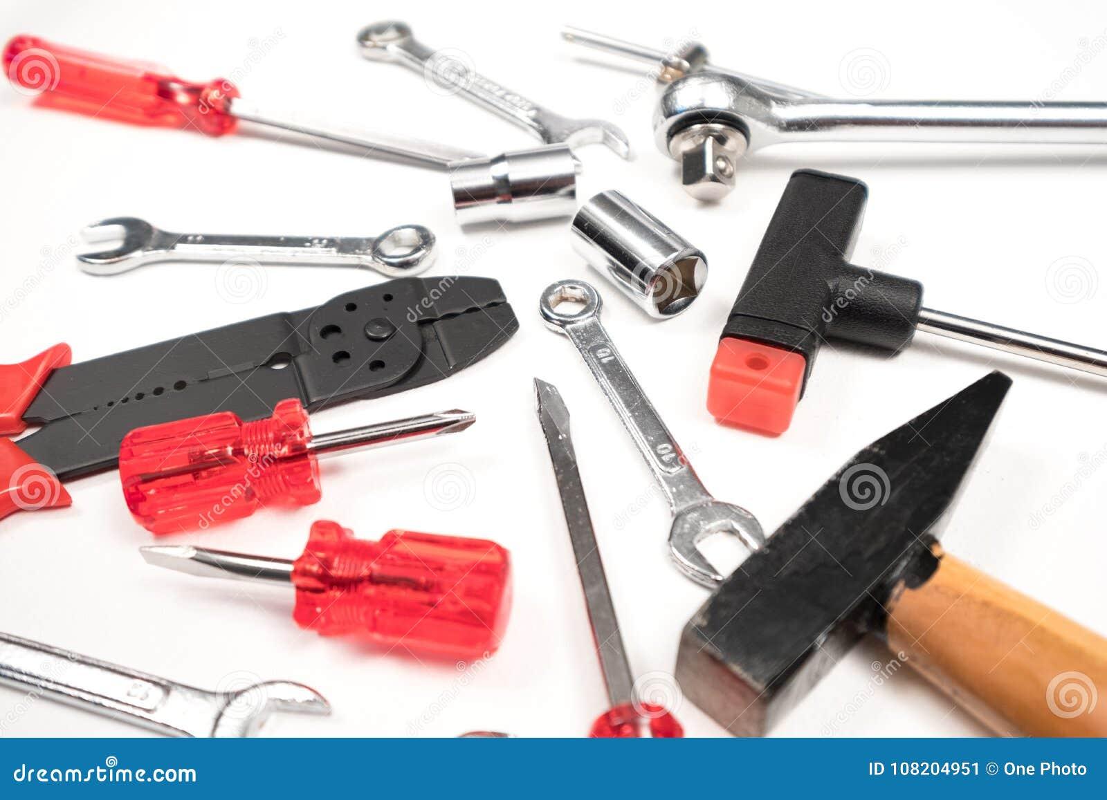 技工工具箱许多工作对工具