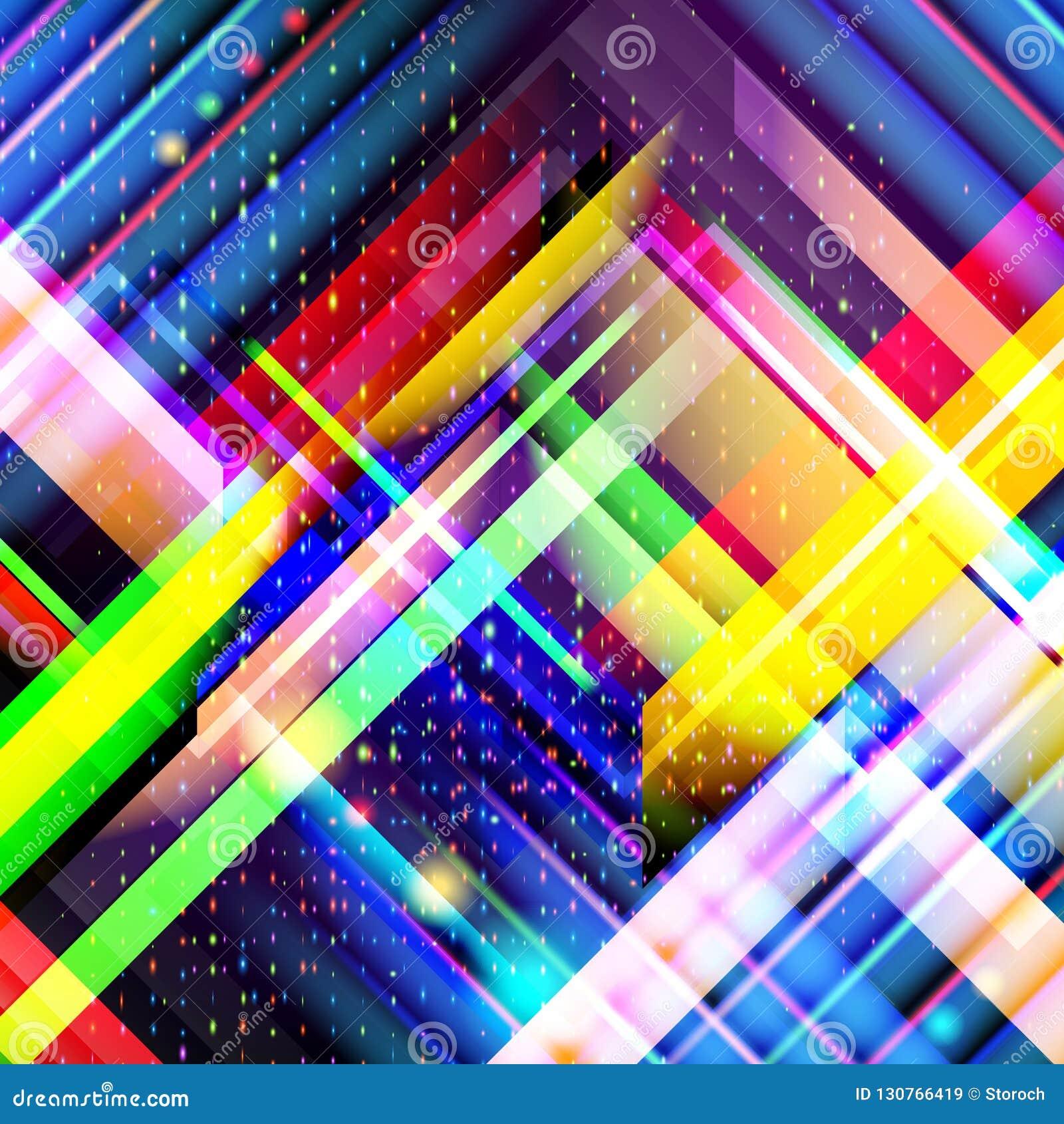 技术五颜六色的抽象背景 浓缩的数字技术