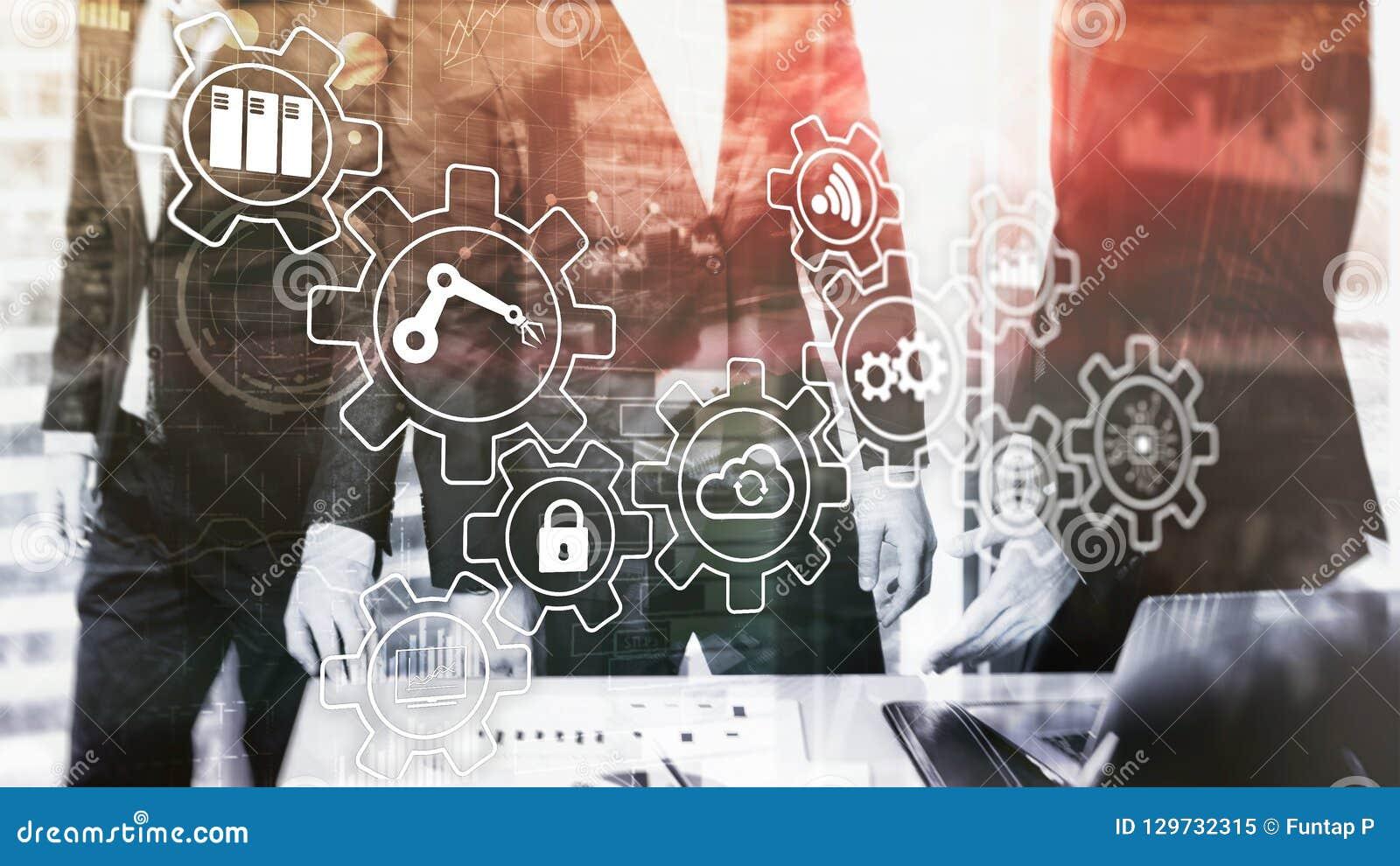 技术创新和自动化 聪明的产业4