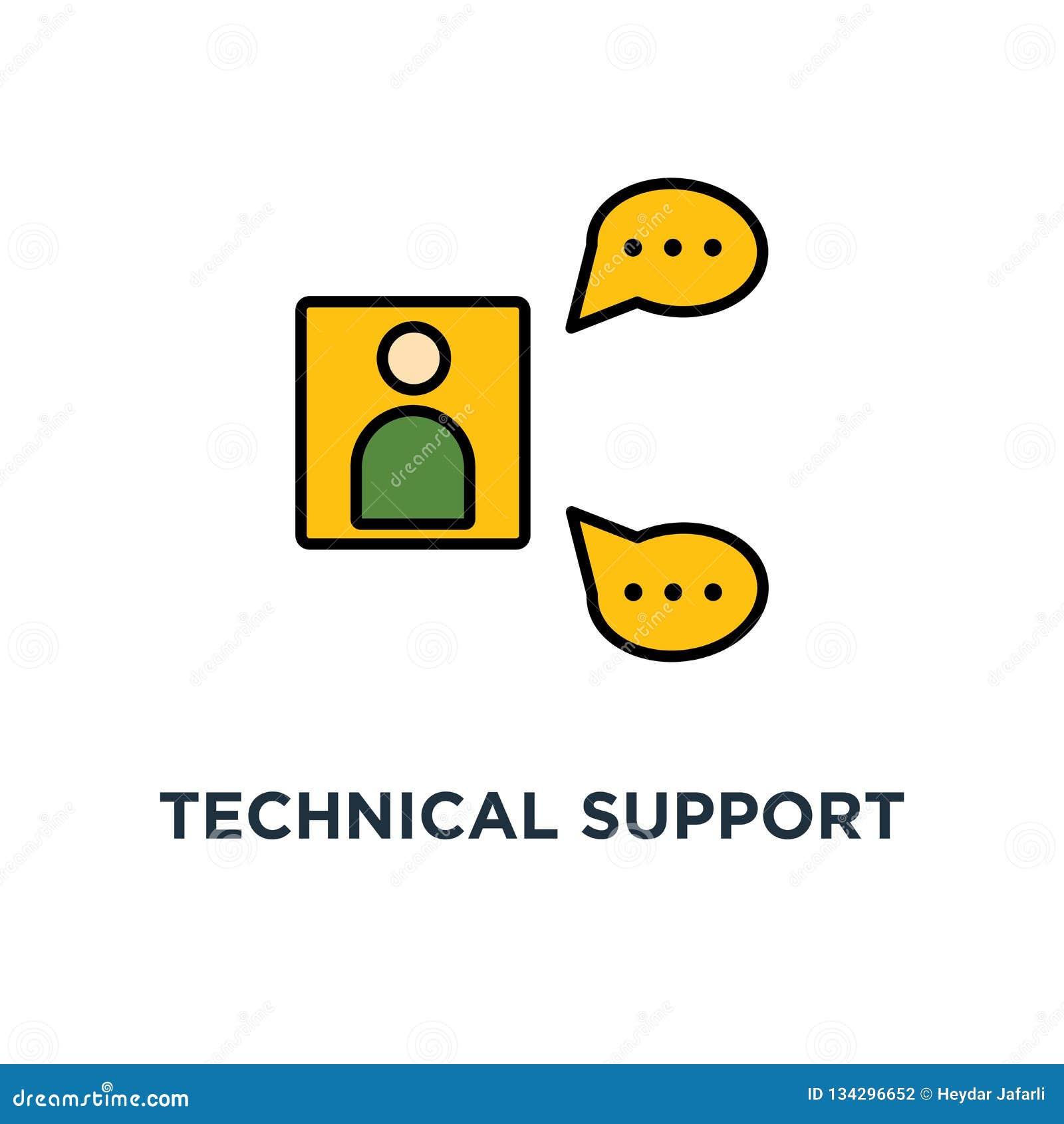 技术支持操作员象 联机帮助书桌概念标志设计,闲谈,常见问题解答,电话中心,逗人喜爱的动画片顾问与