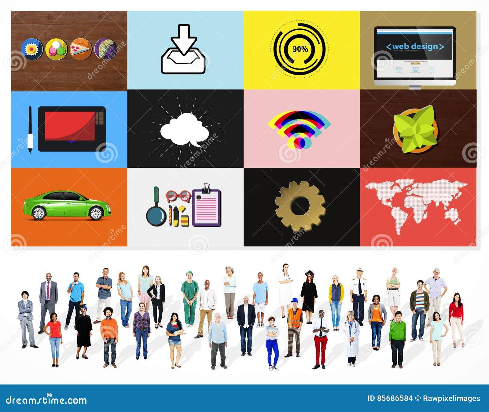技术社会媒介网络网上数字式概念