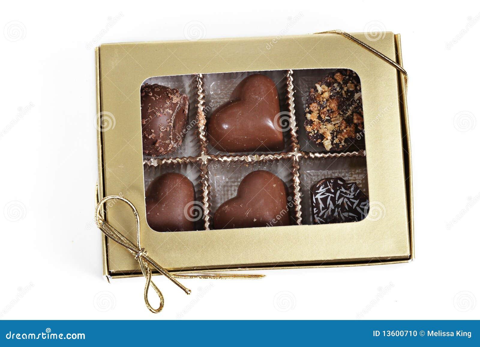 把巧克力装箱